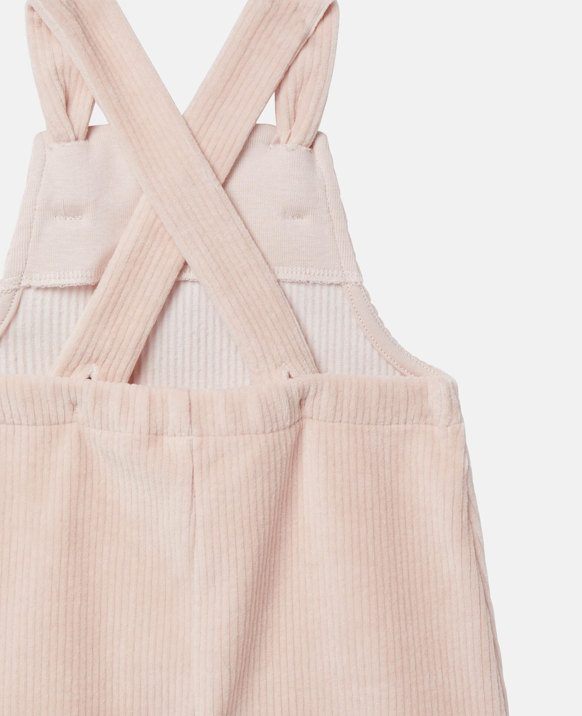Baby-Jumpsuit aus Cordsamt-Rose-large image number 2