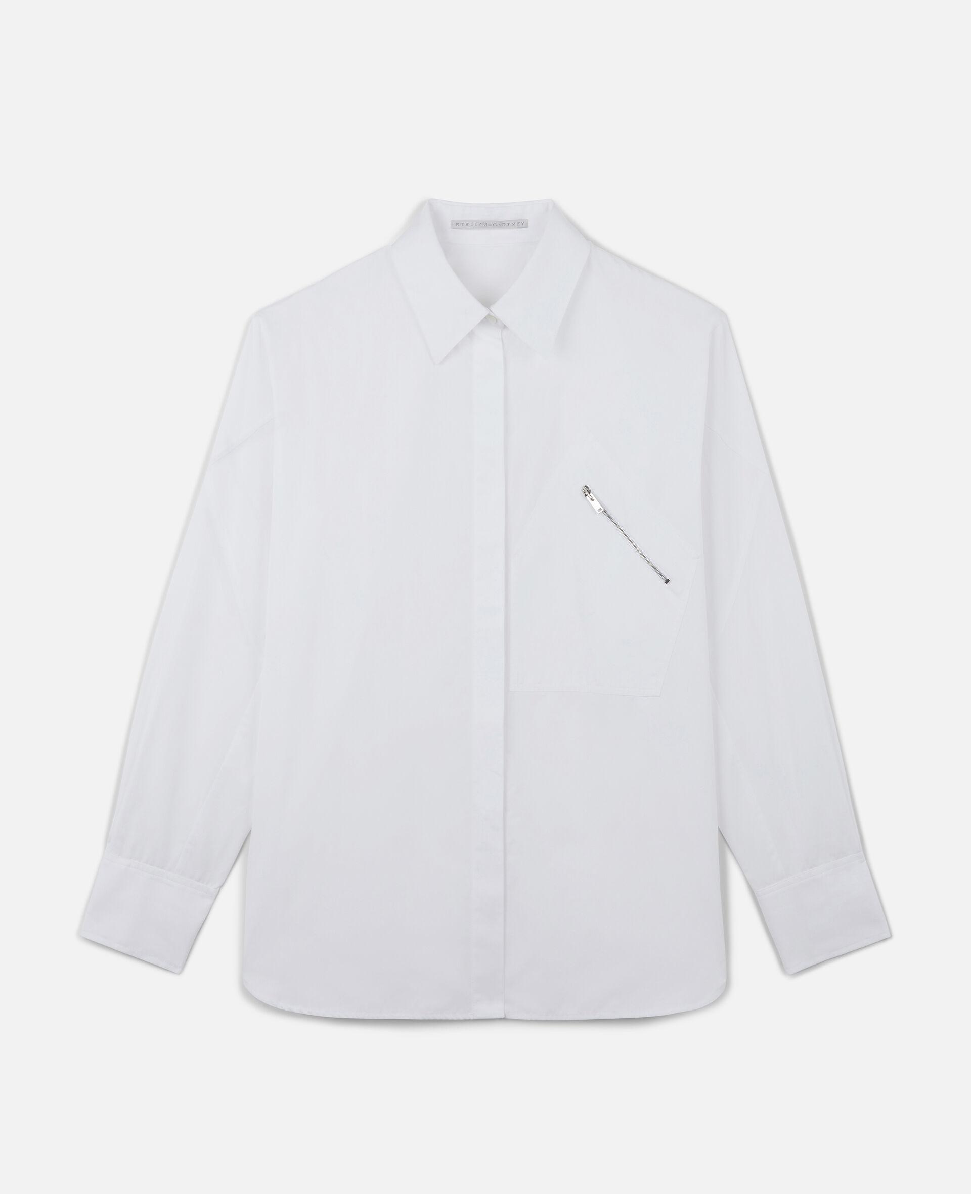 Clara Cotton Shirt-White-large image number 0