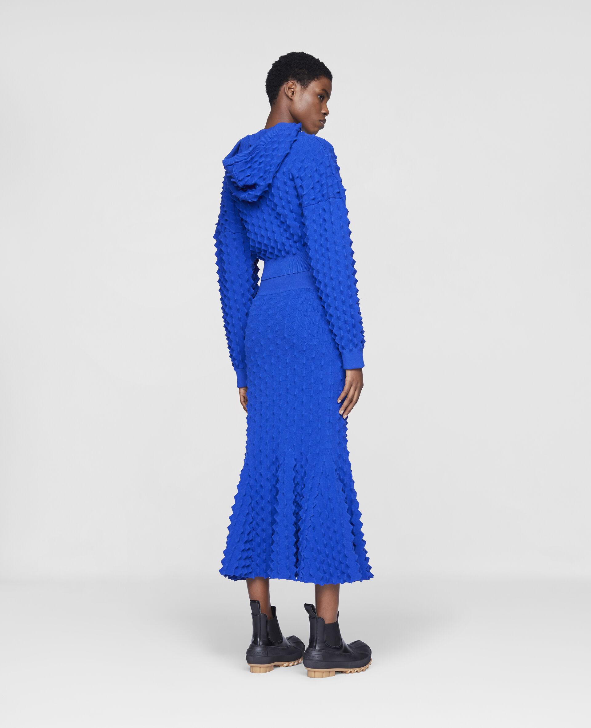 Light Popcorn Skirt-Blue-large image number 2