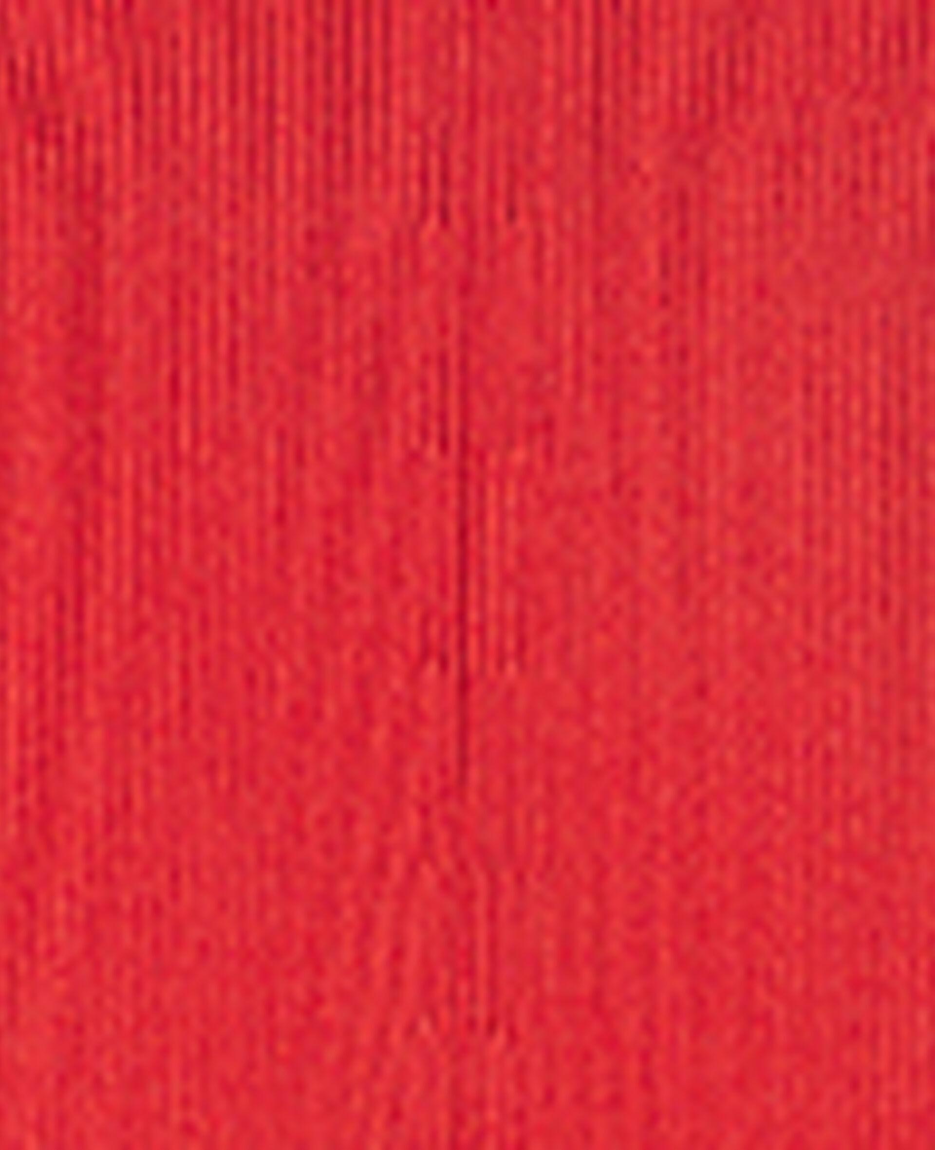 喇叭裤-红色-large image number 4