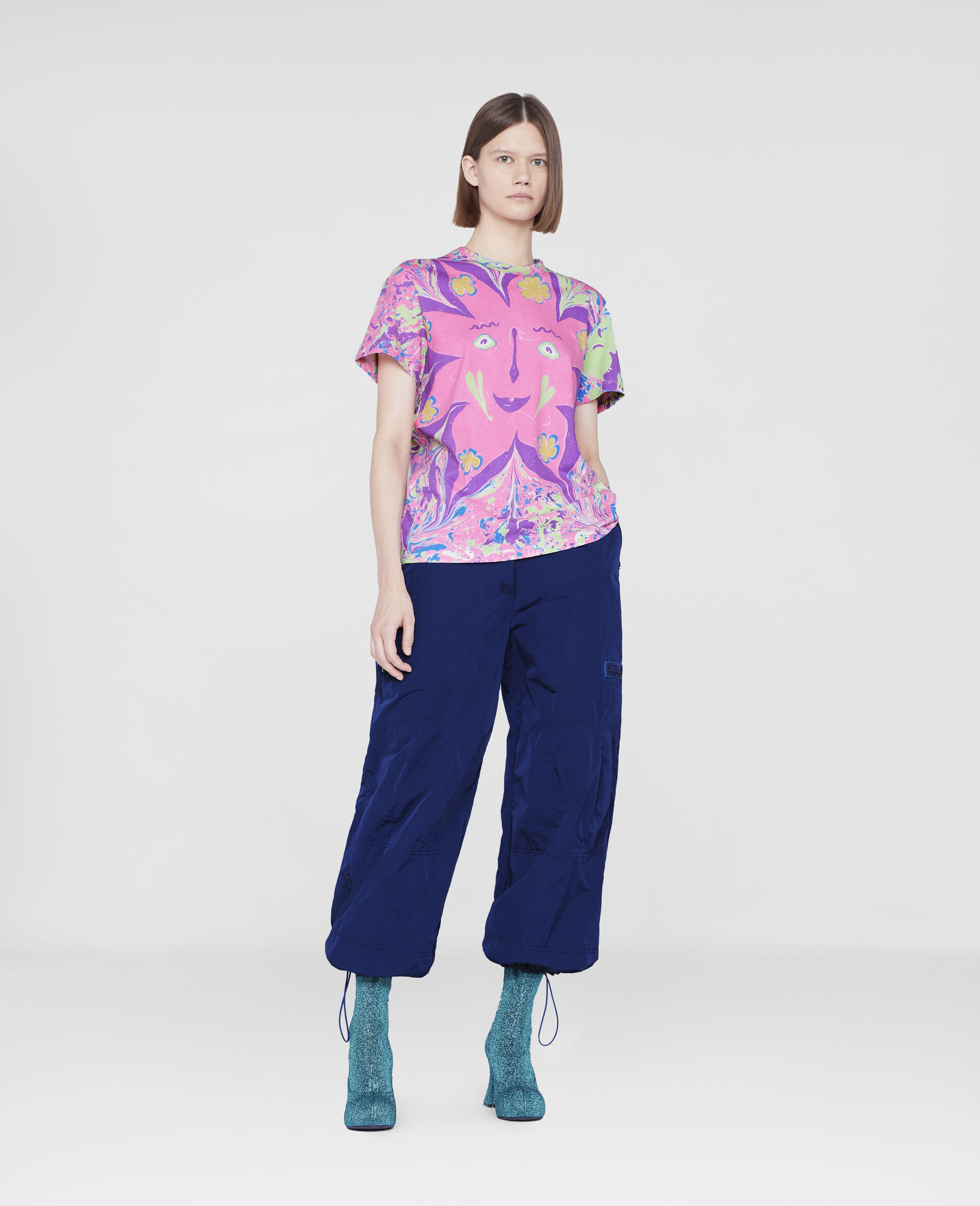 Myfawnwy Printed T-Shirt-Multicolour-large image number 1