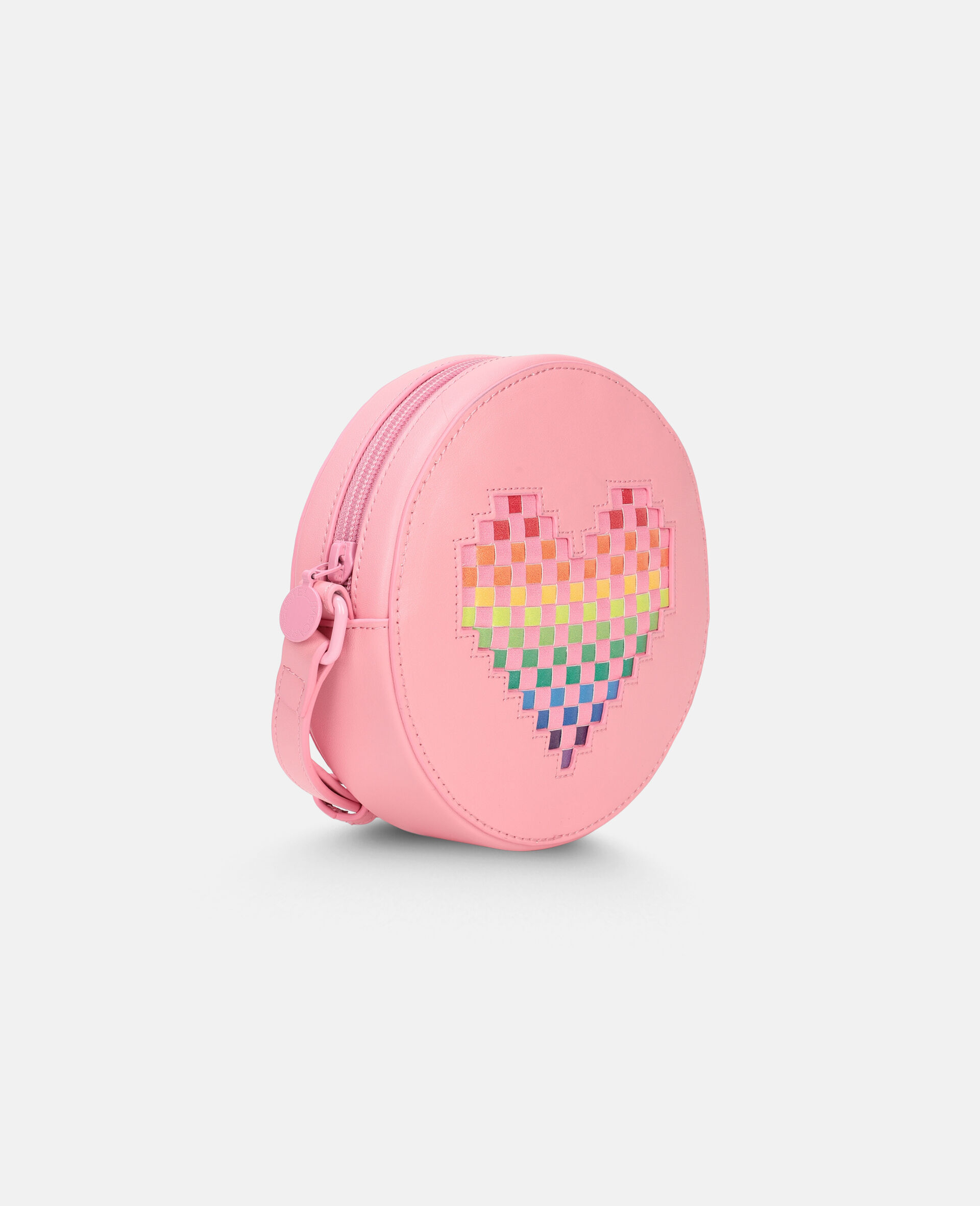 Heart Shoulder Bag -Pink-large image number 1