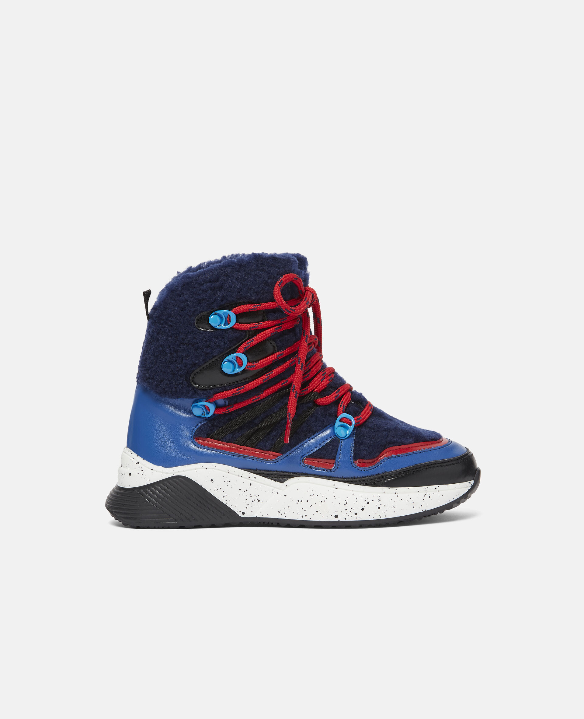 Colourblock Hiking Boots-Blue-large image number 0