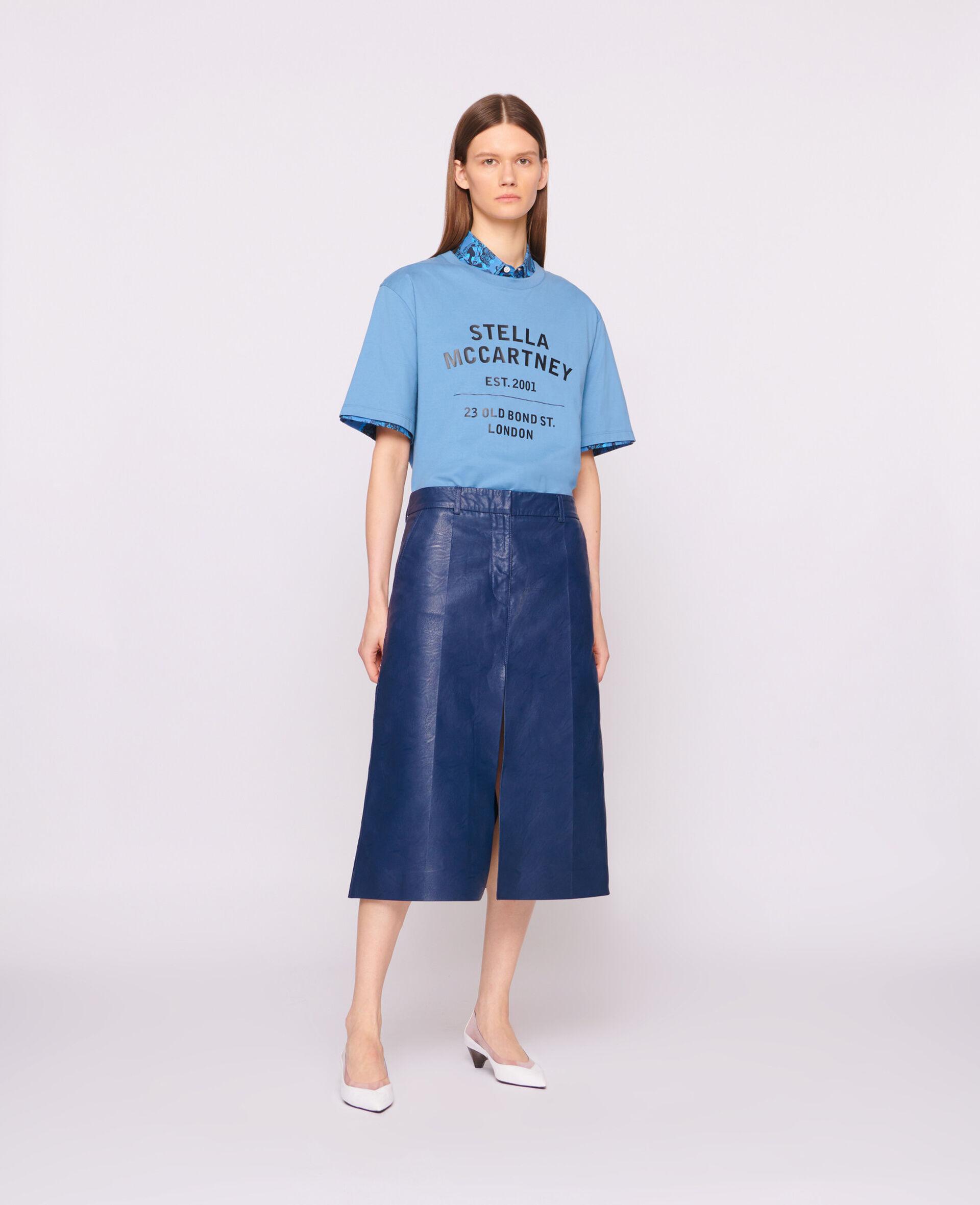 T-Shirt 23 OBS aus Bio-Baumwolle-Schwarz-large image number 3
