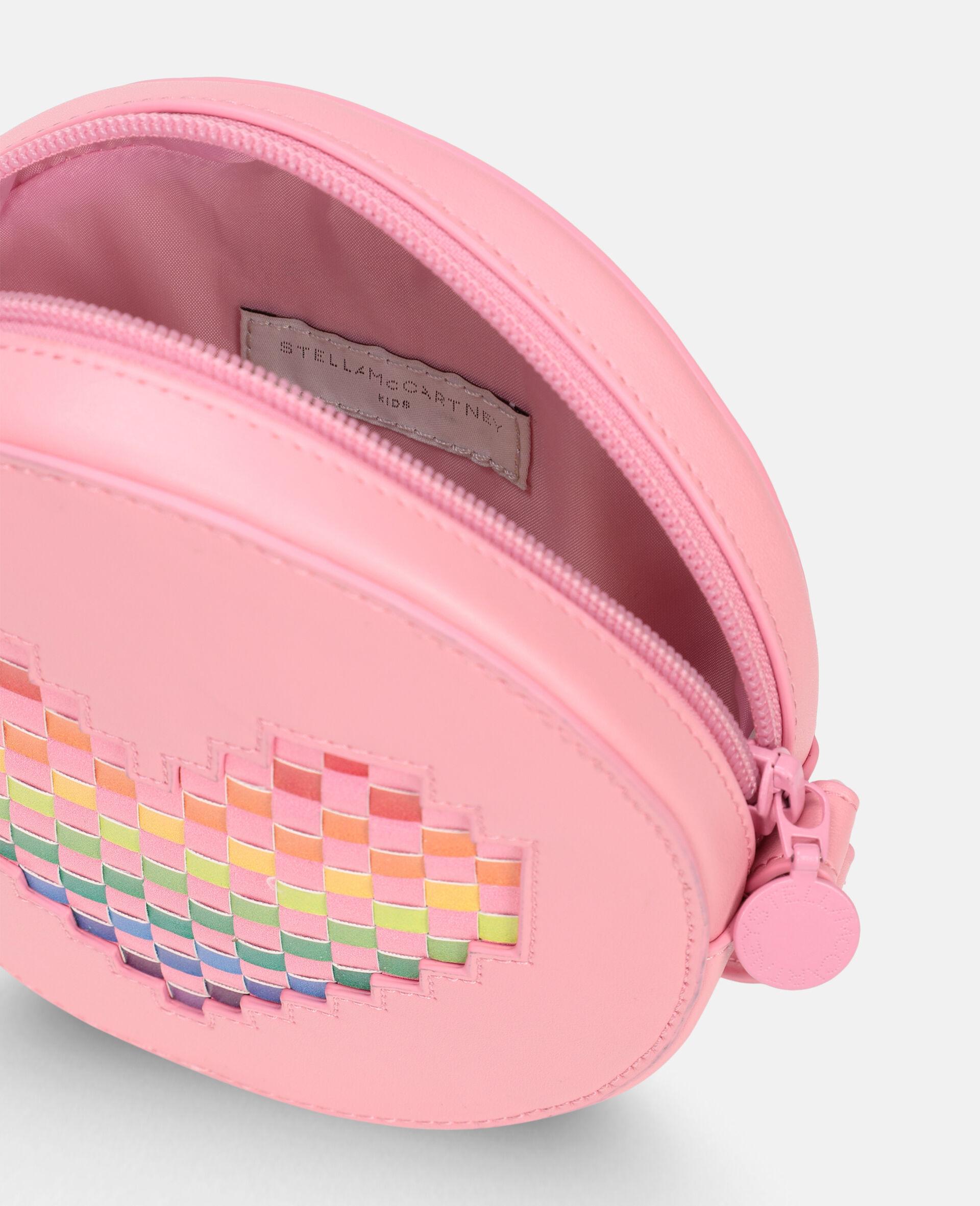 Heart Shoulder Bag -Pink-large image number 2