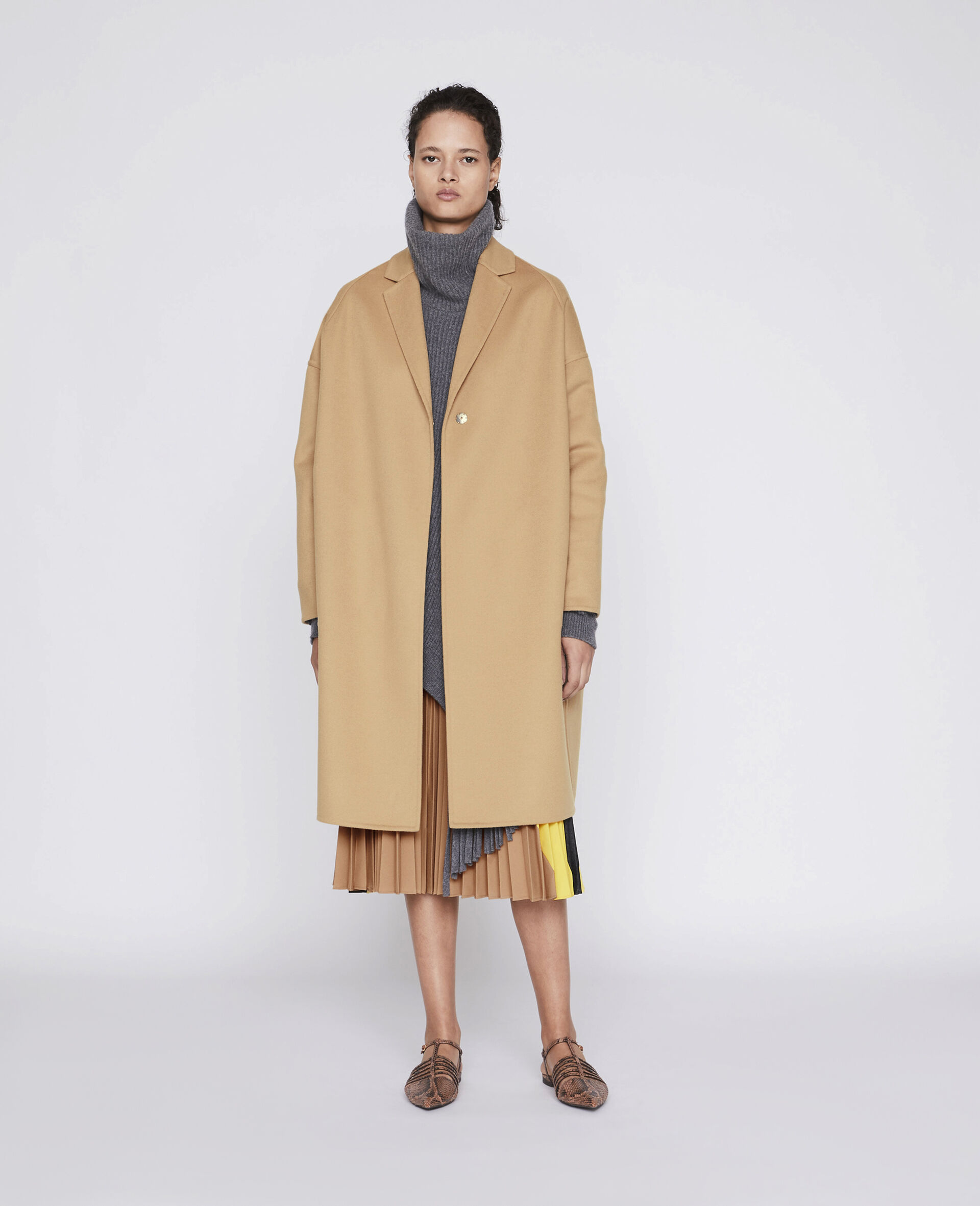 Cappotto Bilpin -Marrone-large image number 1