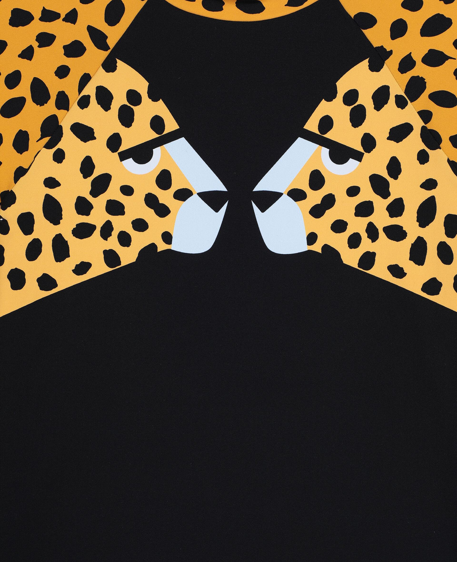 Cheetah Swim Set -Black-large image number 1