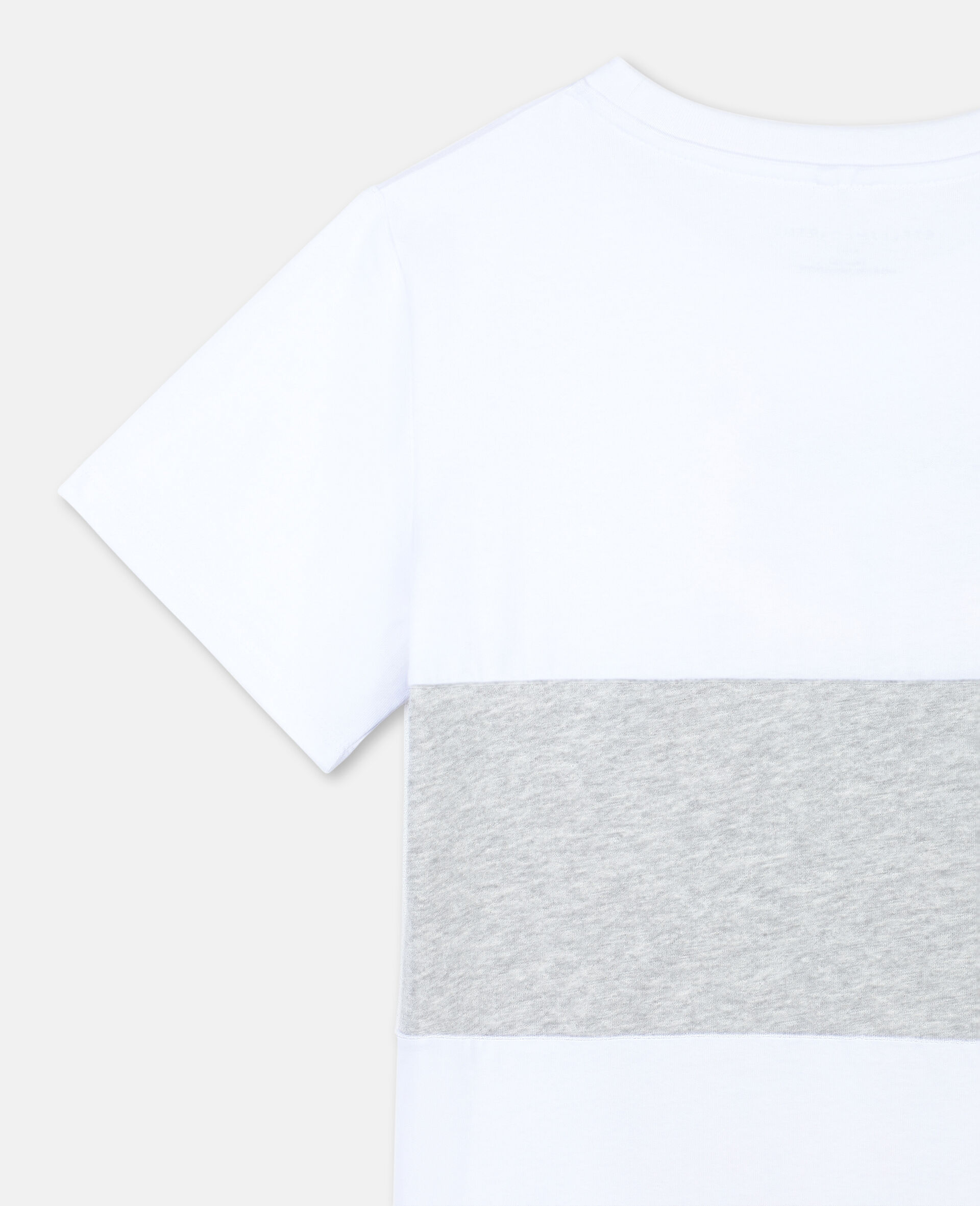 T-Shirt in Cotone con Tigre -Bianco-large image number 2