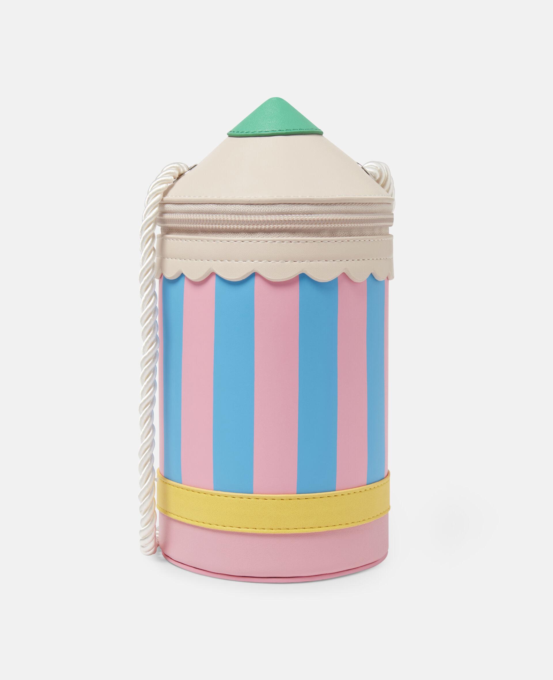 Pencil Alter Mat Shoulder Bag-Multicolour-large image number 0