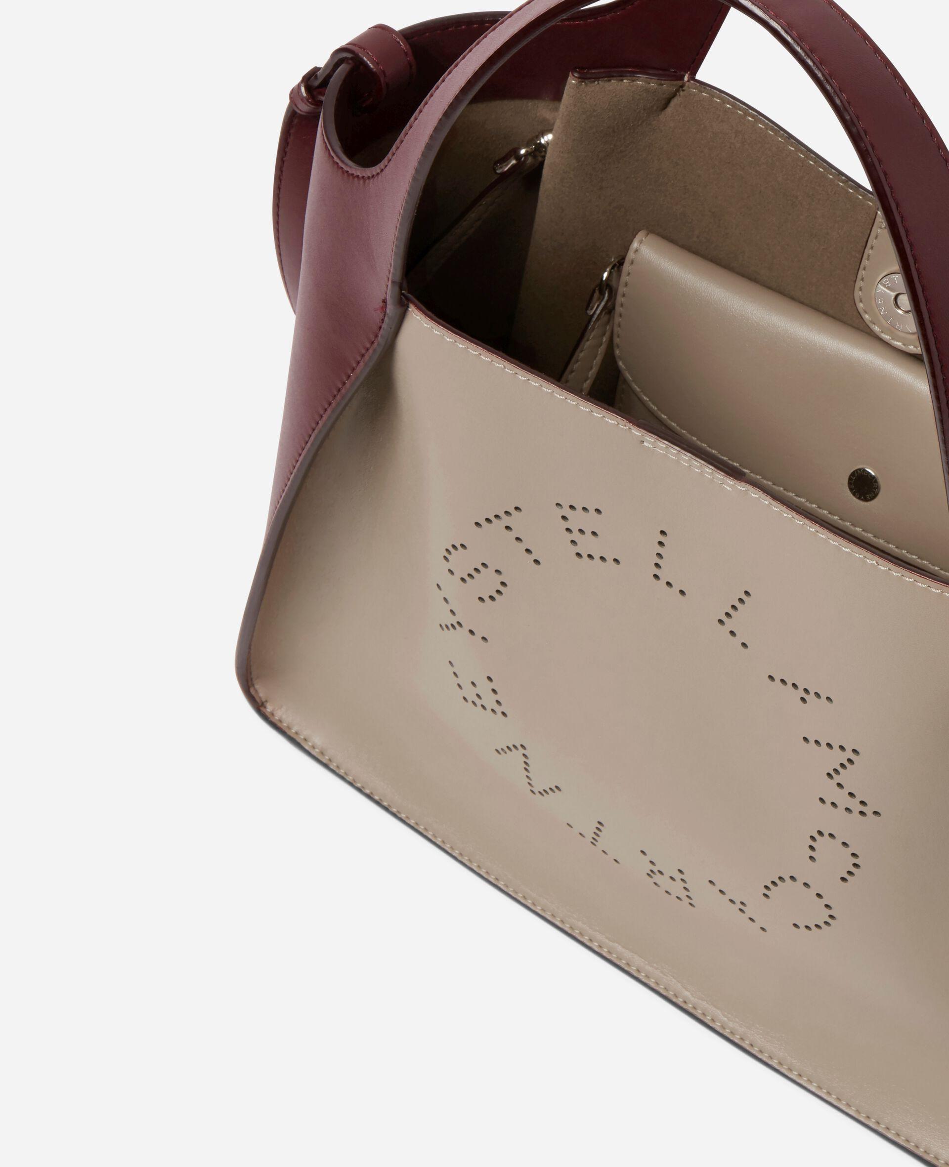 Stella Logo Crossbody Bag -White-large image number 3
