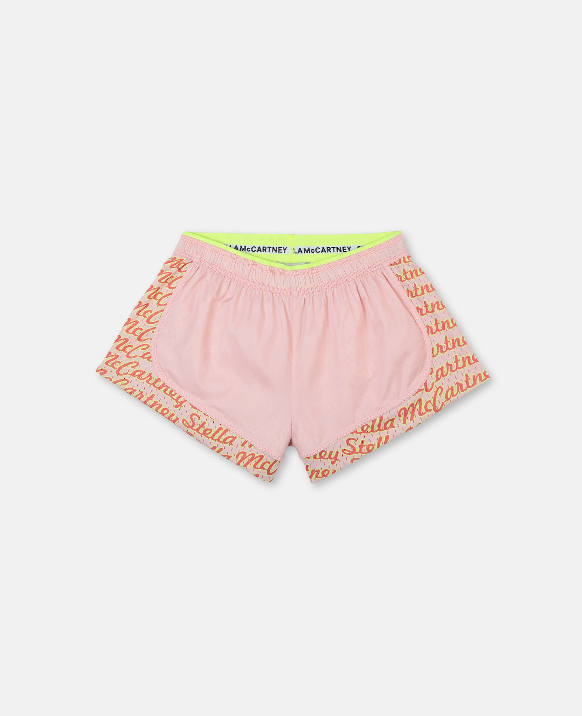 Logo Active Shorts-Pink-large image number 0