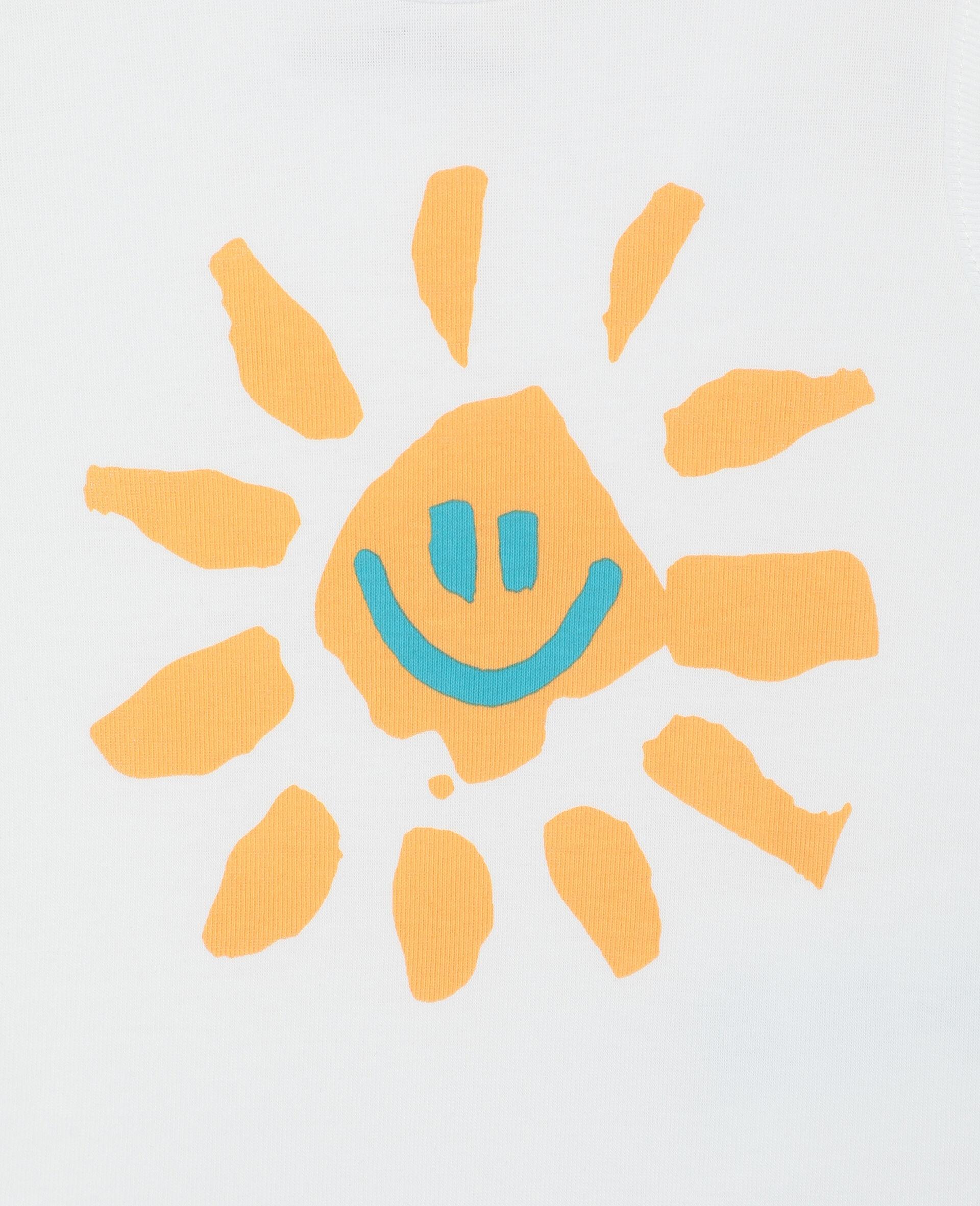 Happy Sun 平纹针织罗纹连体衣套装-黄色-large image number 1