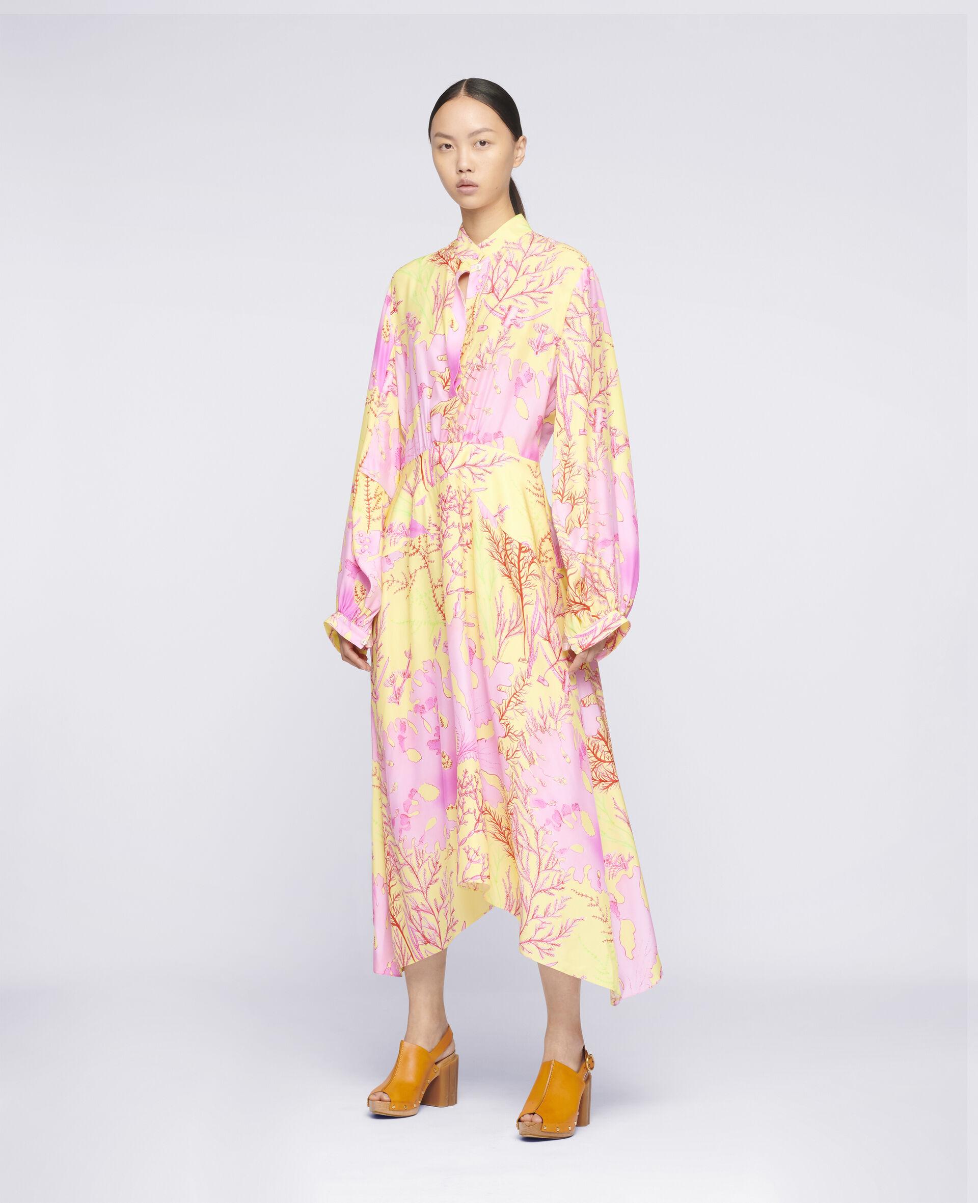 Alyssa Silk Dress-Multicolour-large image number 1