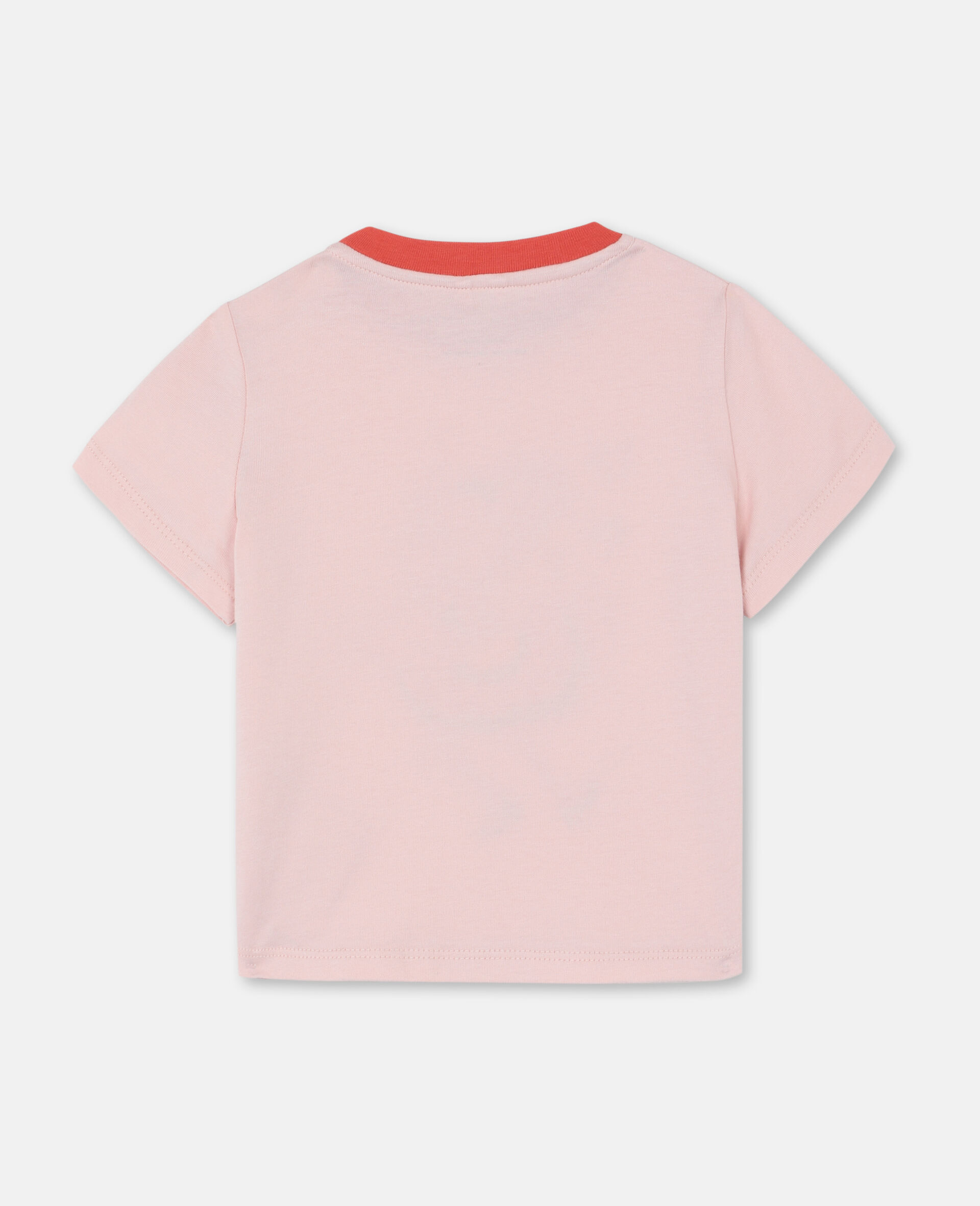 Dancing Flamingo 棉质 T 恤-粉色-large image number 3