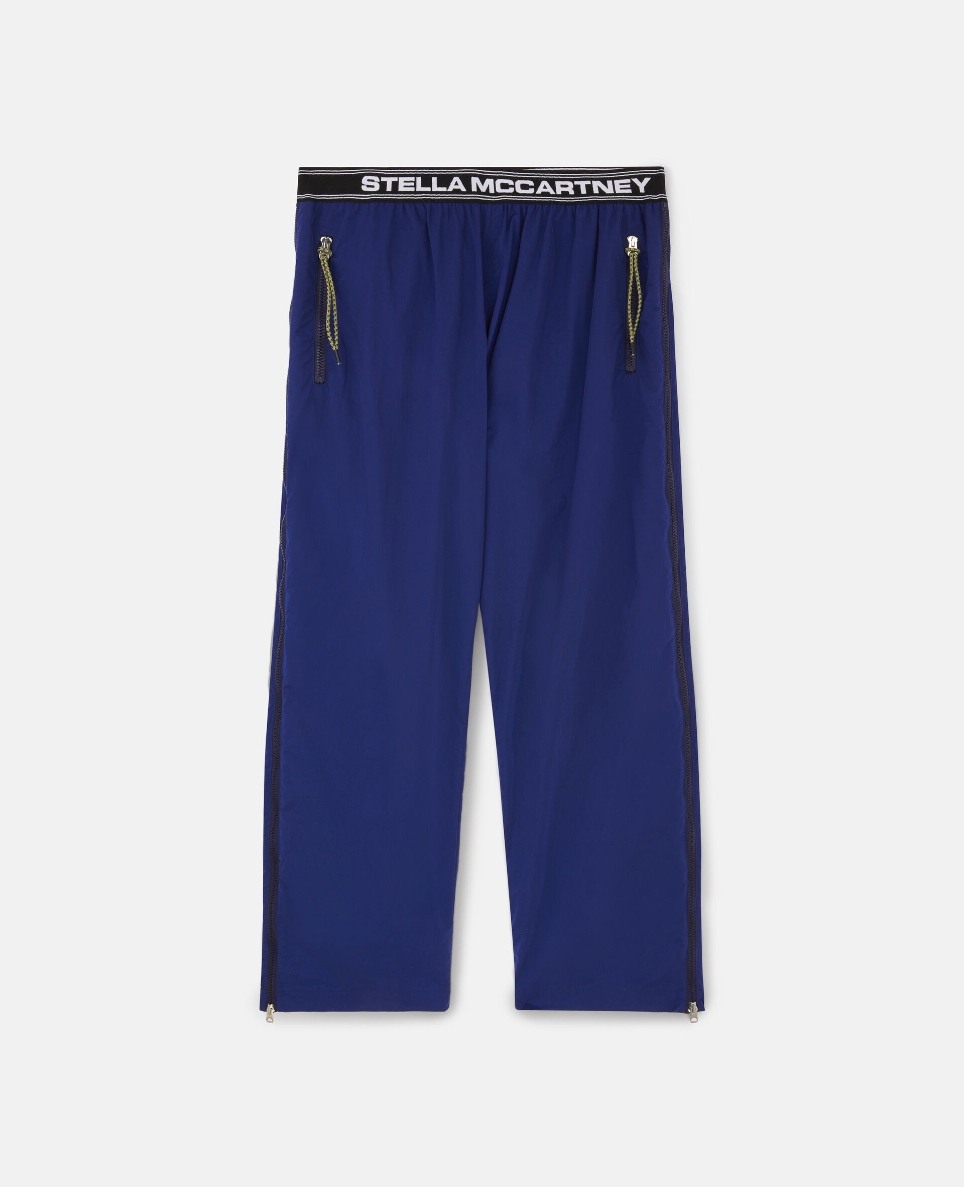 Zip Trousers-Blue-large image number 0
