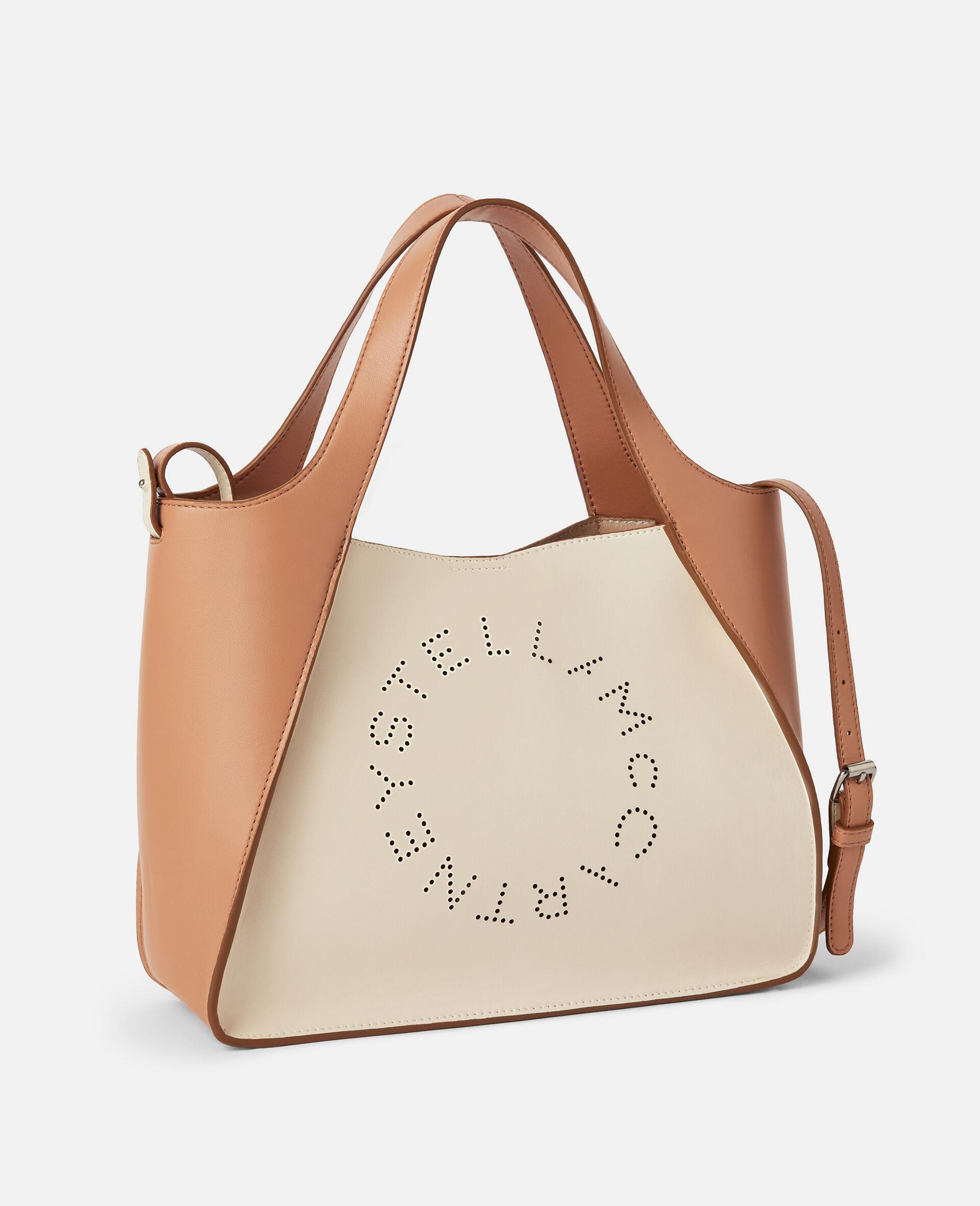 Stella Logo Crossbody Bag-White-large image number 1