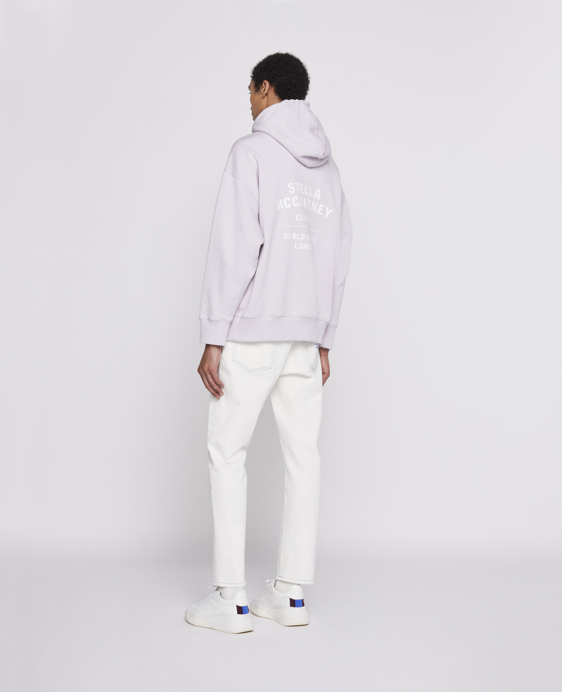 23 OBS Denim Trousers  -White-large image number 2