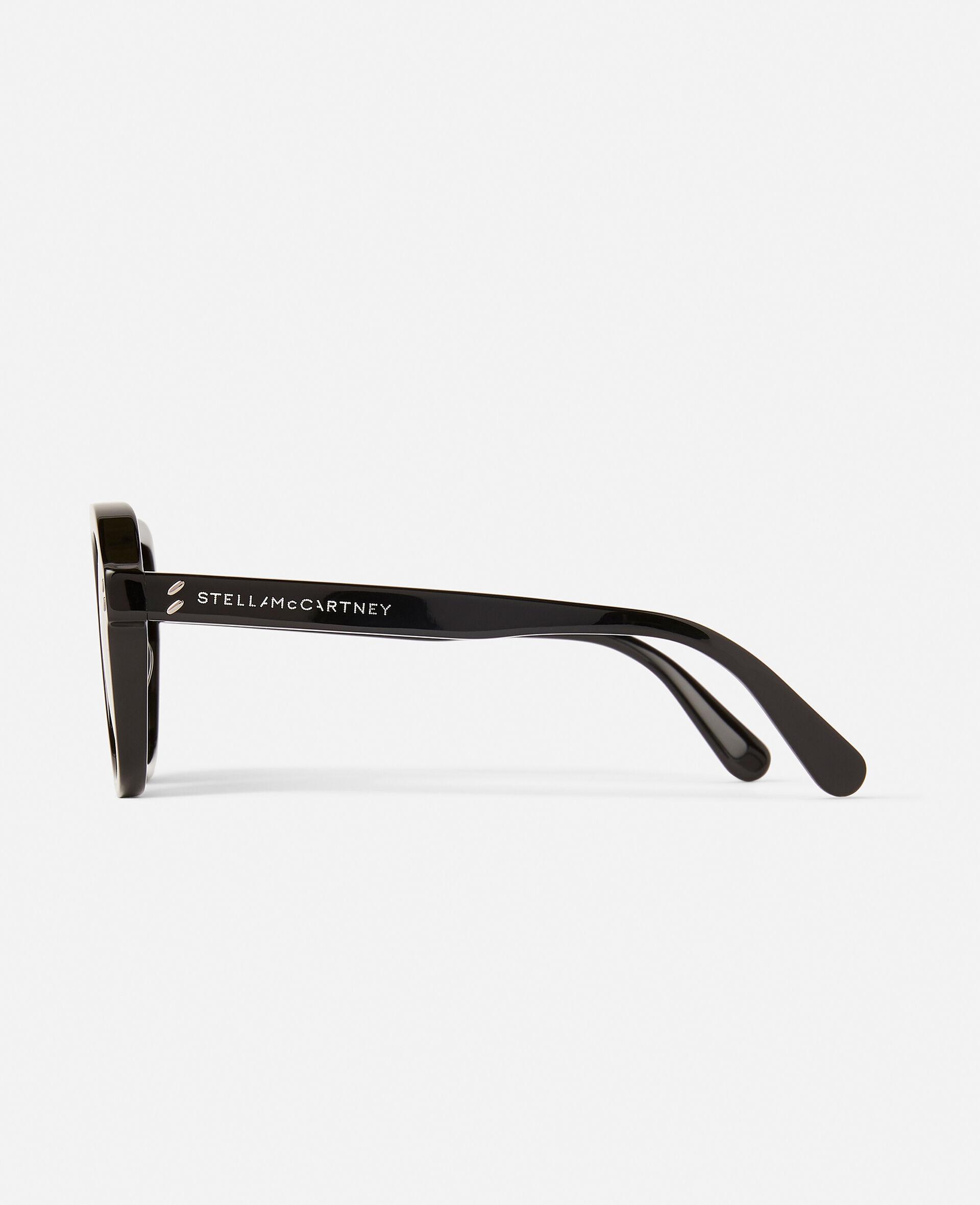 Sonnenbrille mit Leopard-Muster und eckiger Fassung-Brown-large image number 6