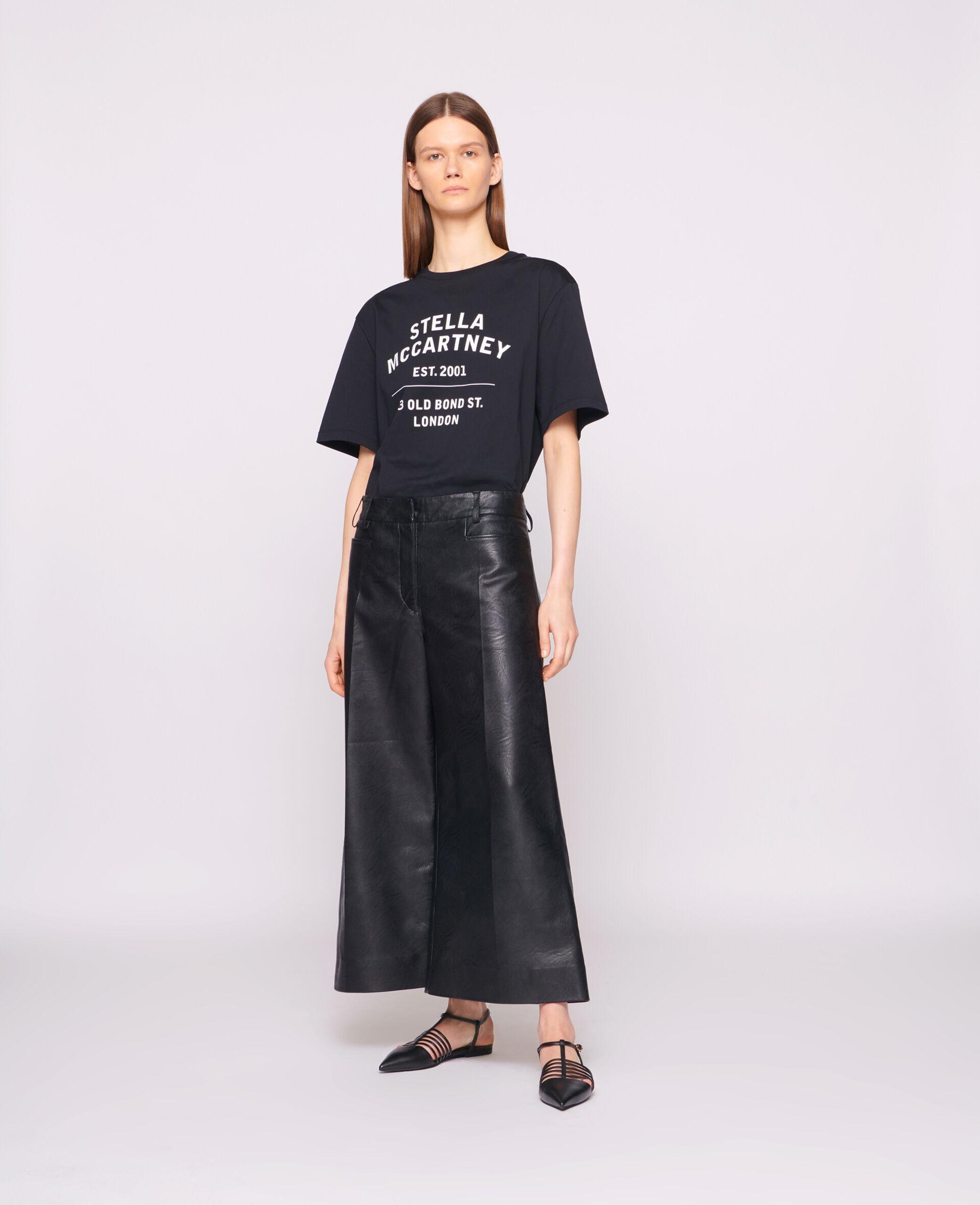 23 OBS 有机棉 T 恤-黑色-large image number 1