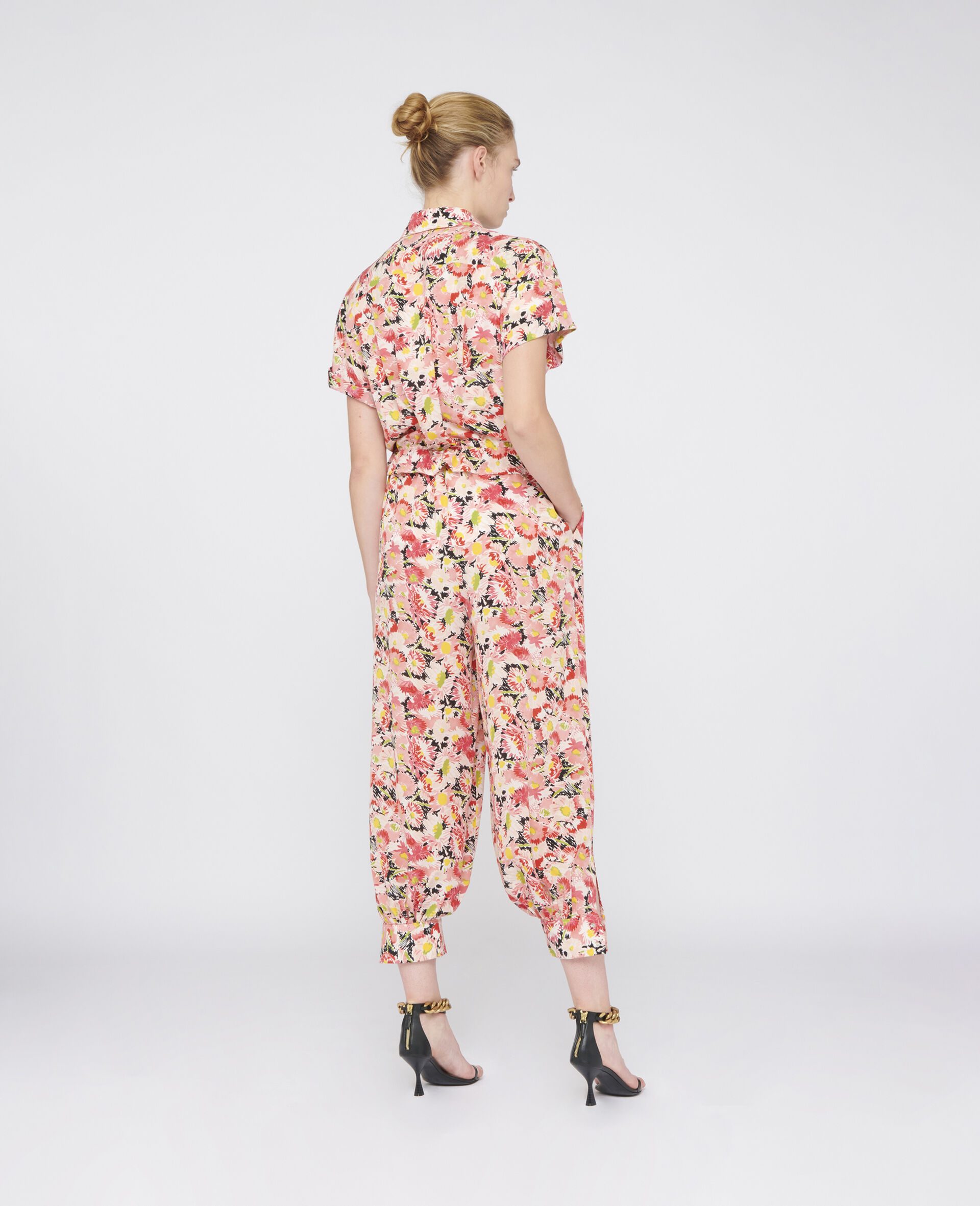 Johanna Silk Jumpsuit-Multicolour-large image number 2