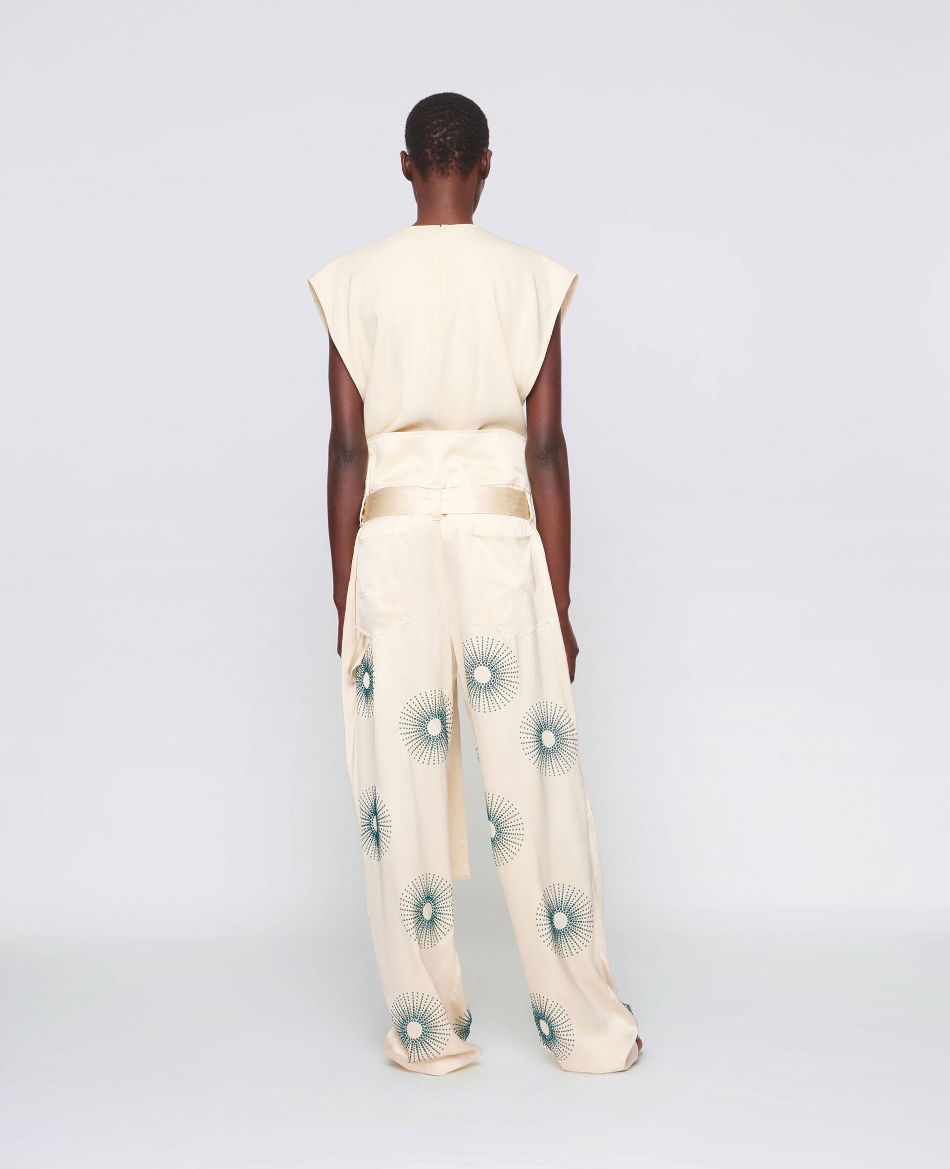 Elliana Hotfix Trousers-White-large image number 2