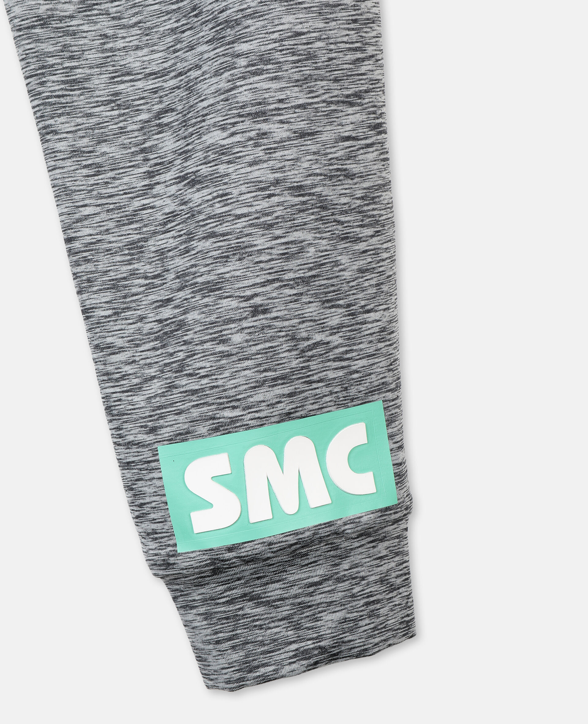 Space Dye Active Sweatpants -Grey-large image number 2