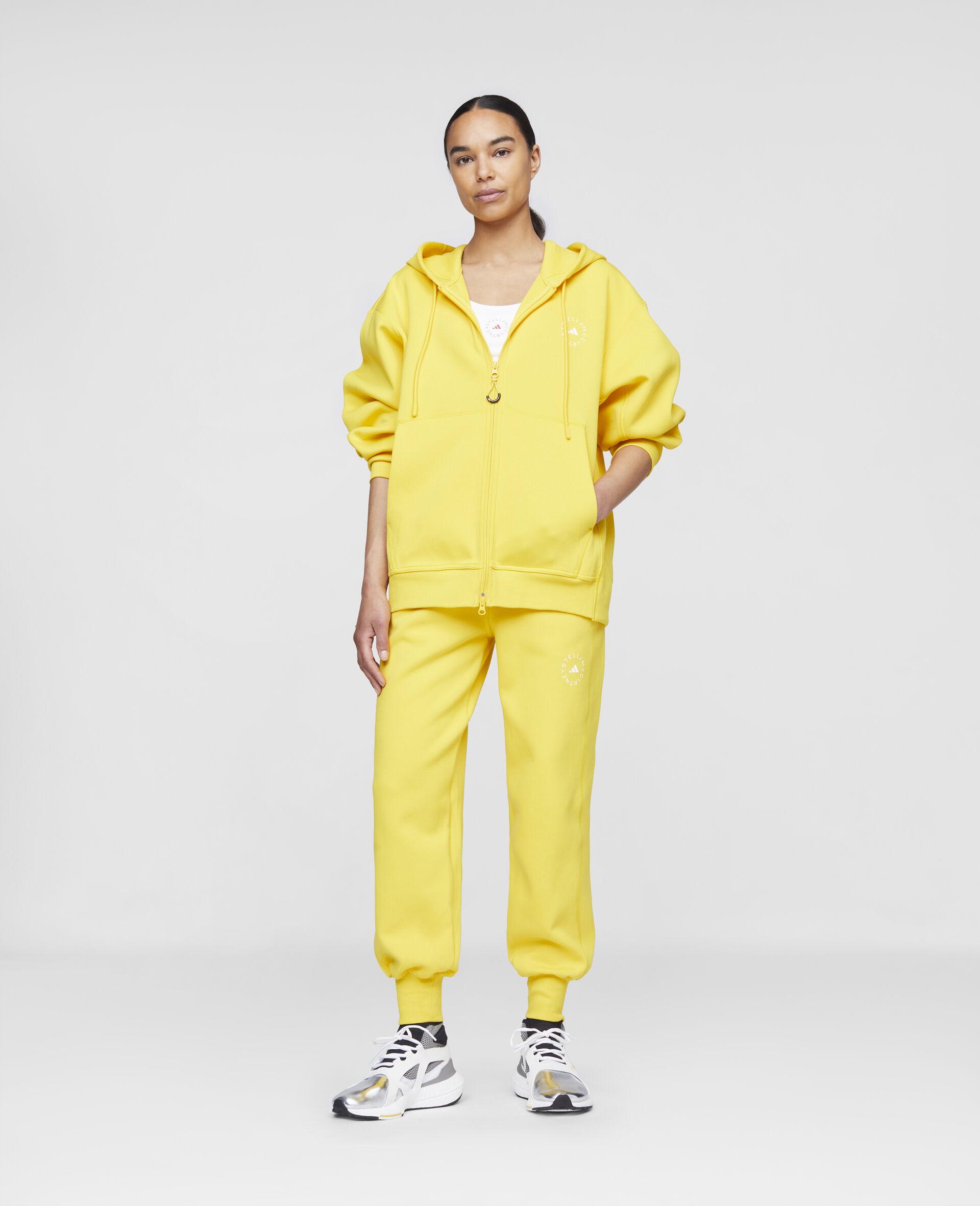 Yellow Training Hoodie-Yellow-large image number 1