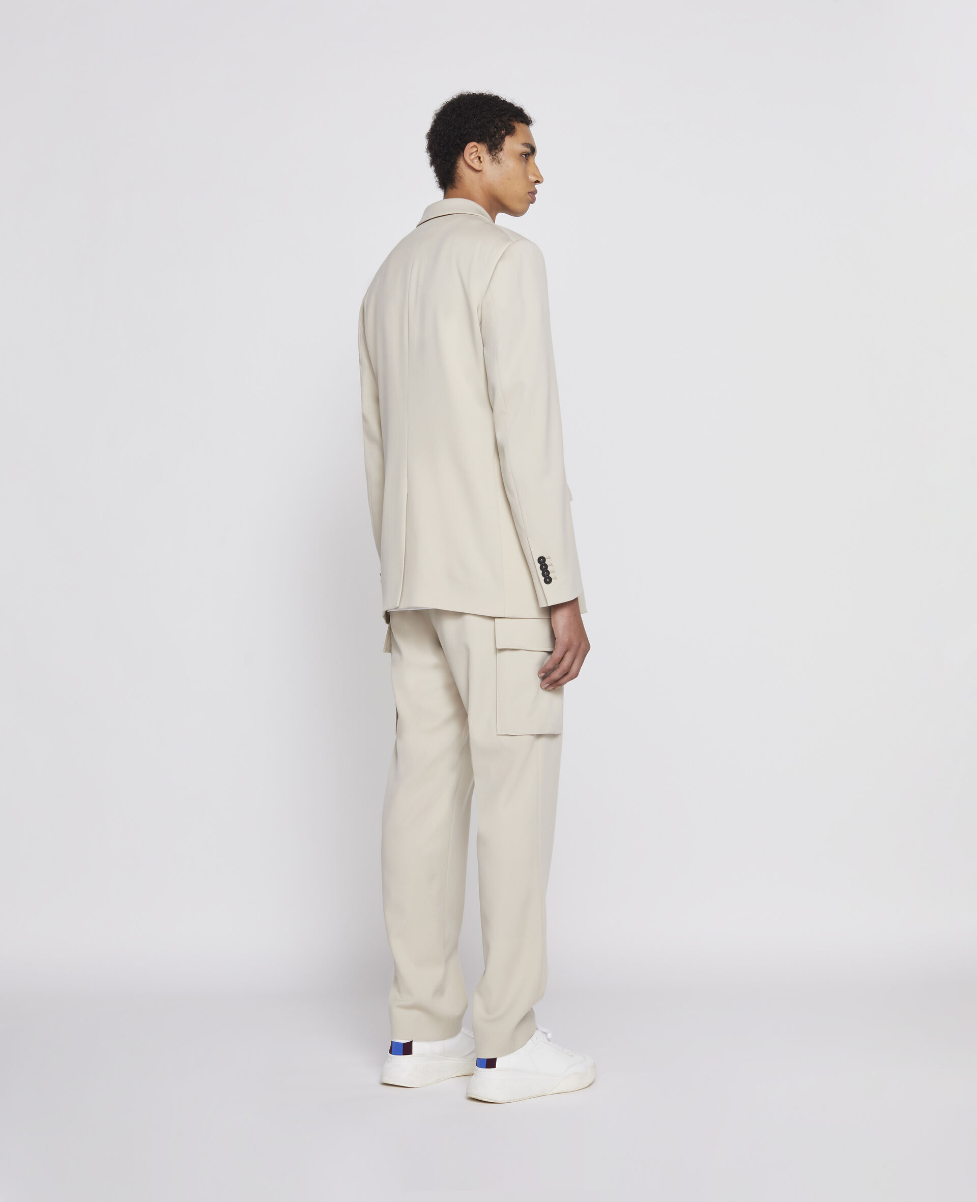 Light Sand Trousers-Beige-large image number 2