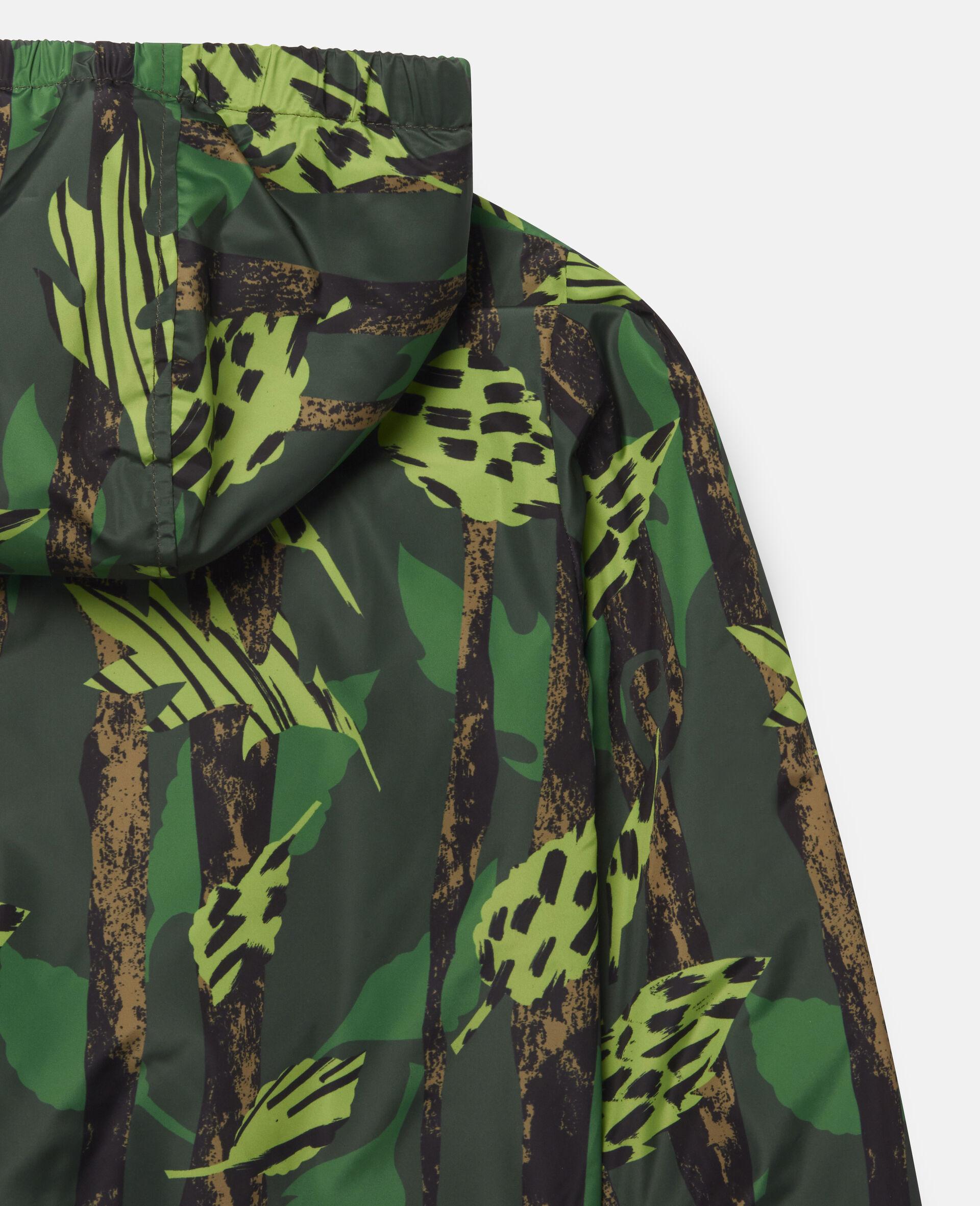 Leaves Hooded Jacket-Multicolour-large image number 2