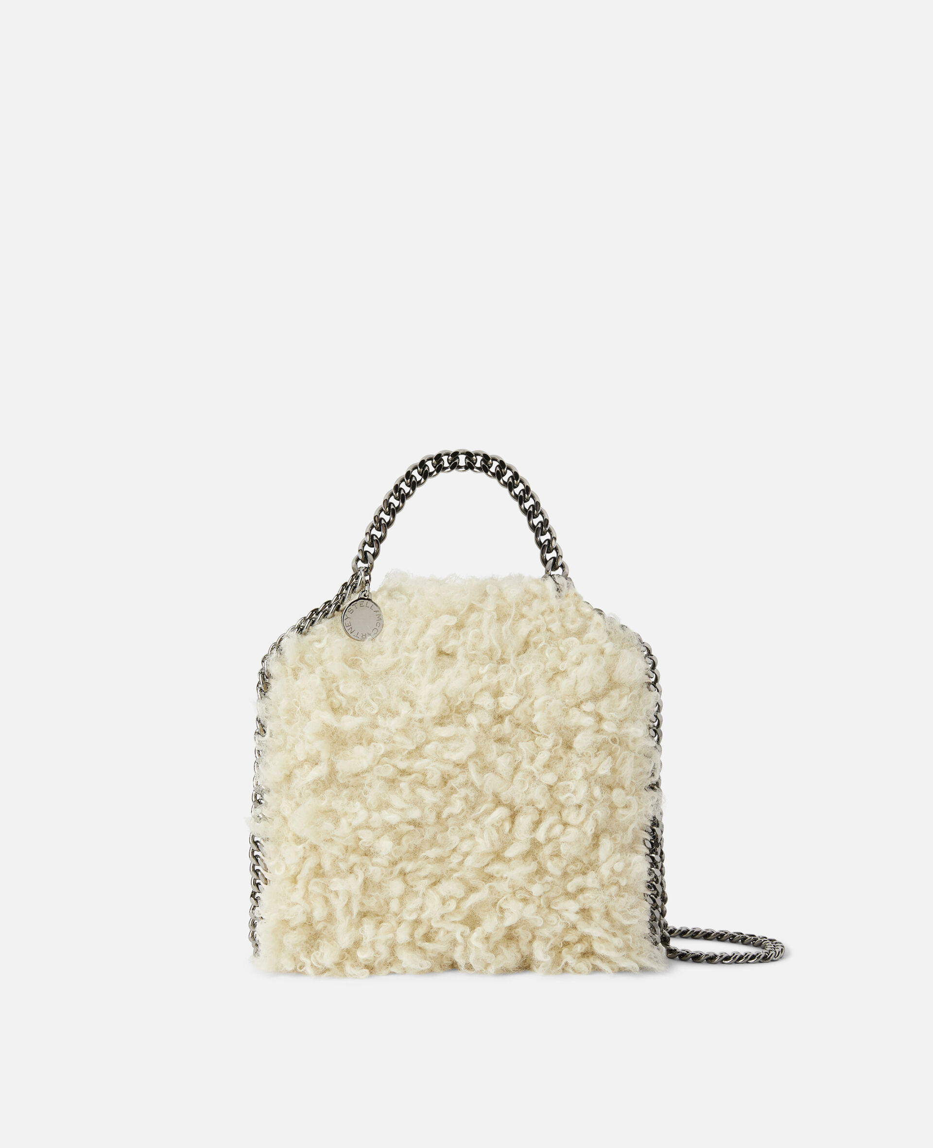 Falabella FFF Tiny Tote-White-large image number 0