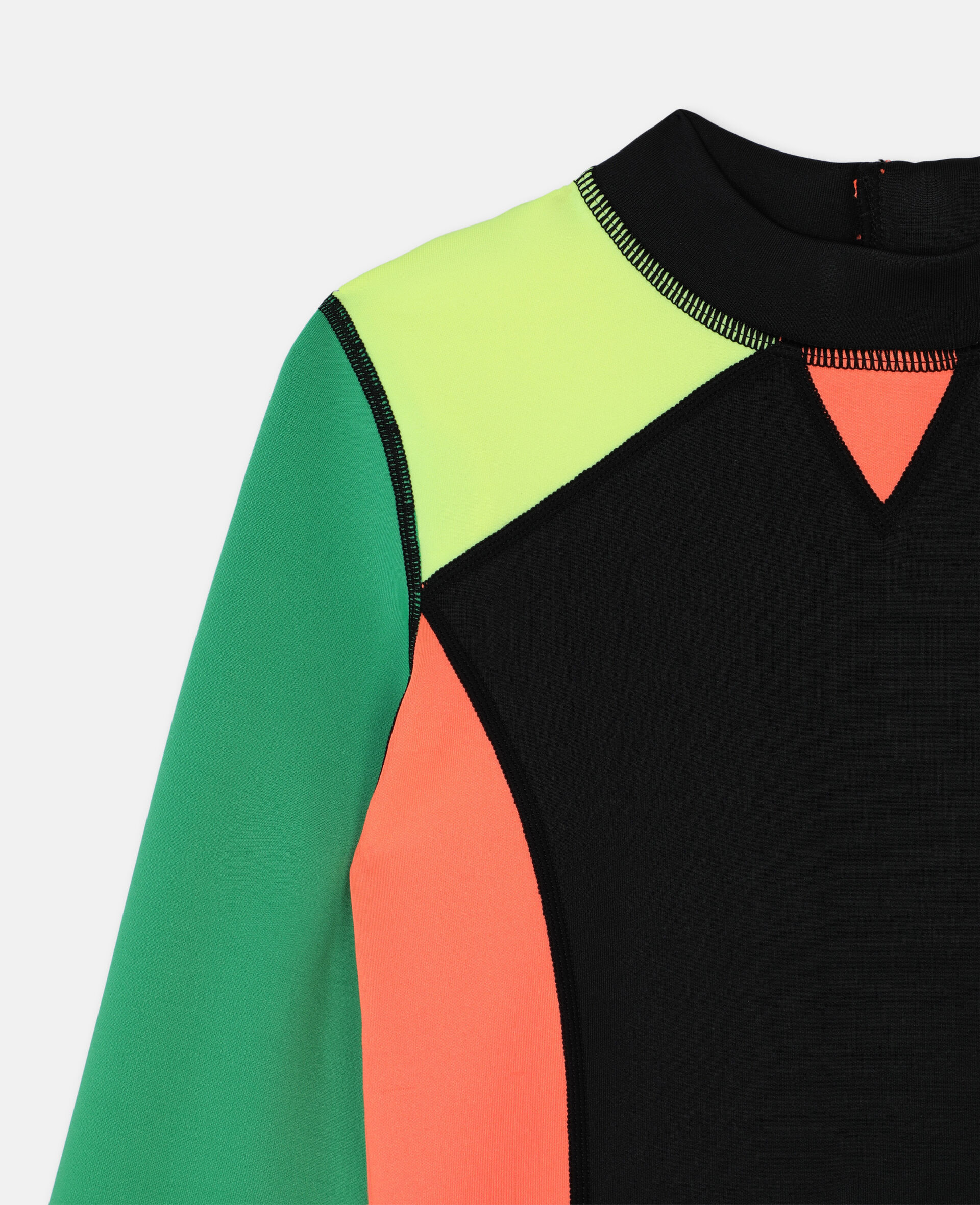 多色潜水游泳 T 恤 -Multicolored-large image number 2