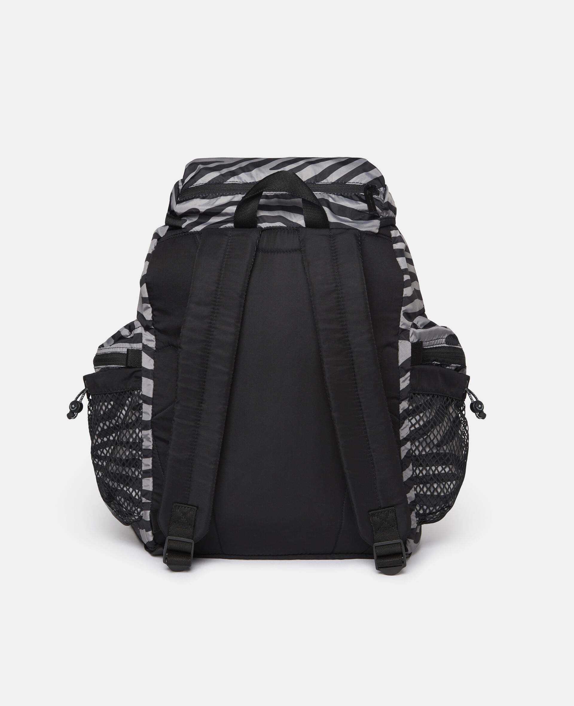 Printed Backpack-Multicolour-large image number 4