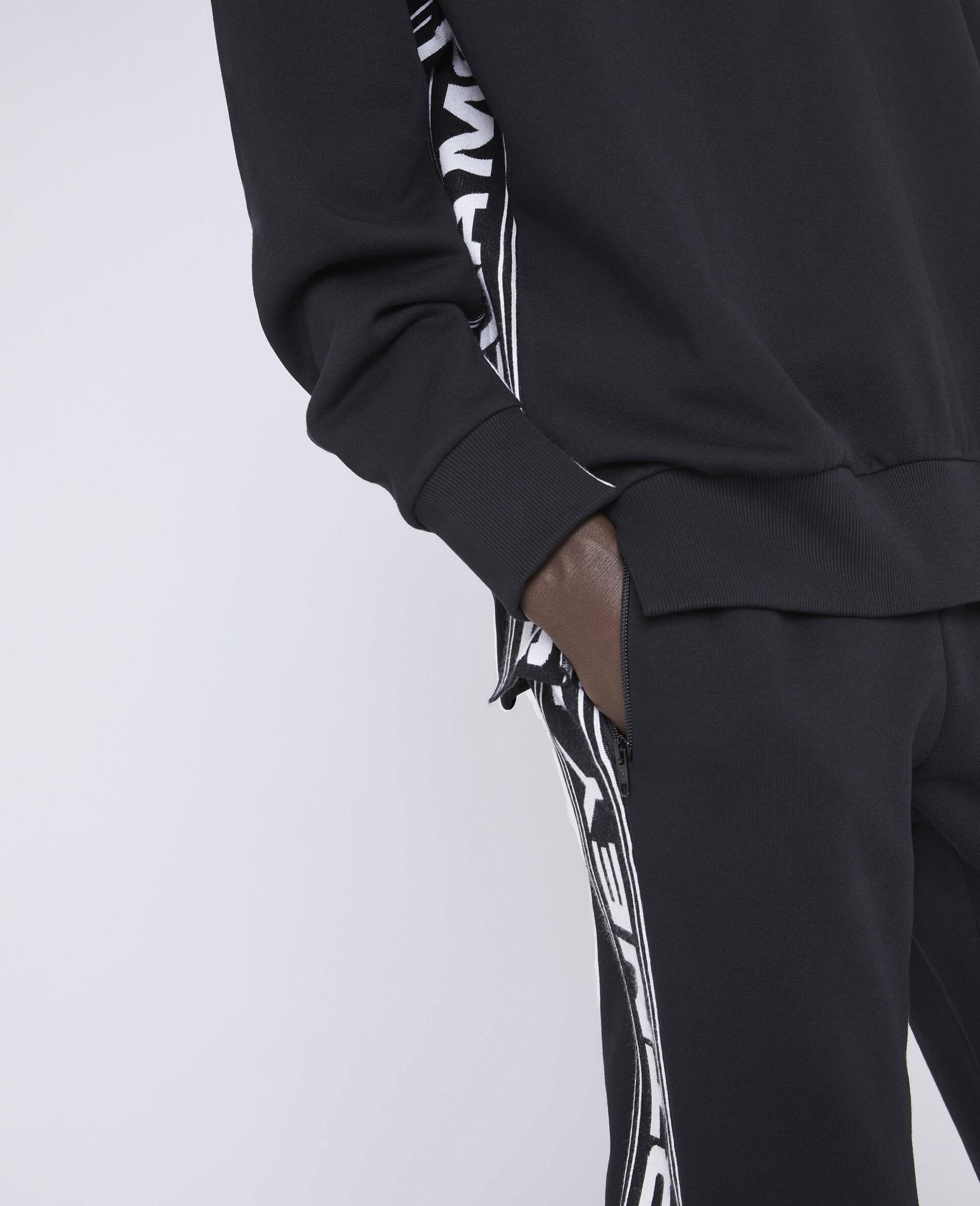 23 OBS 针织裤装-黑色-large image number 3