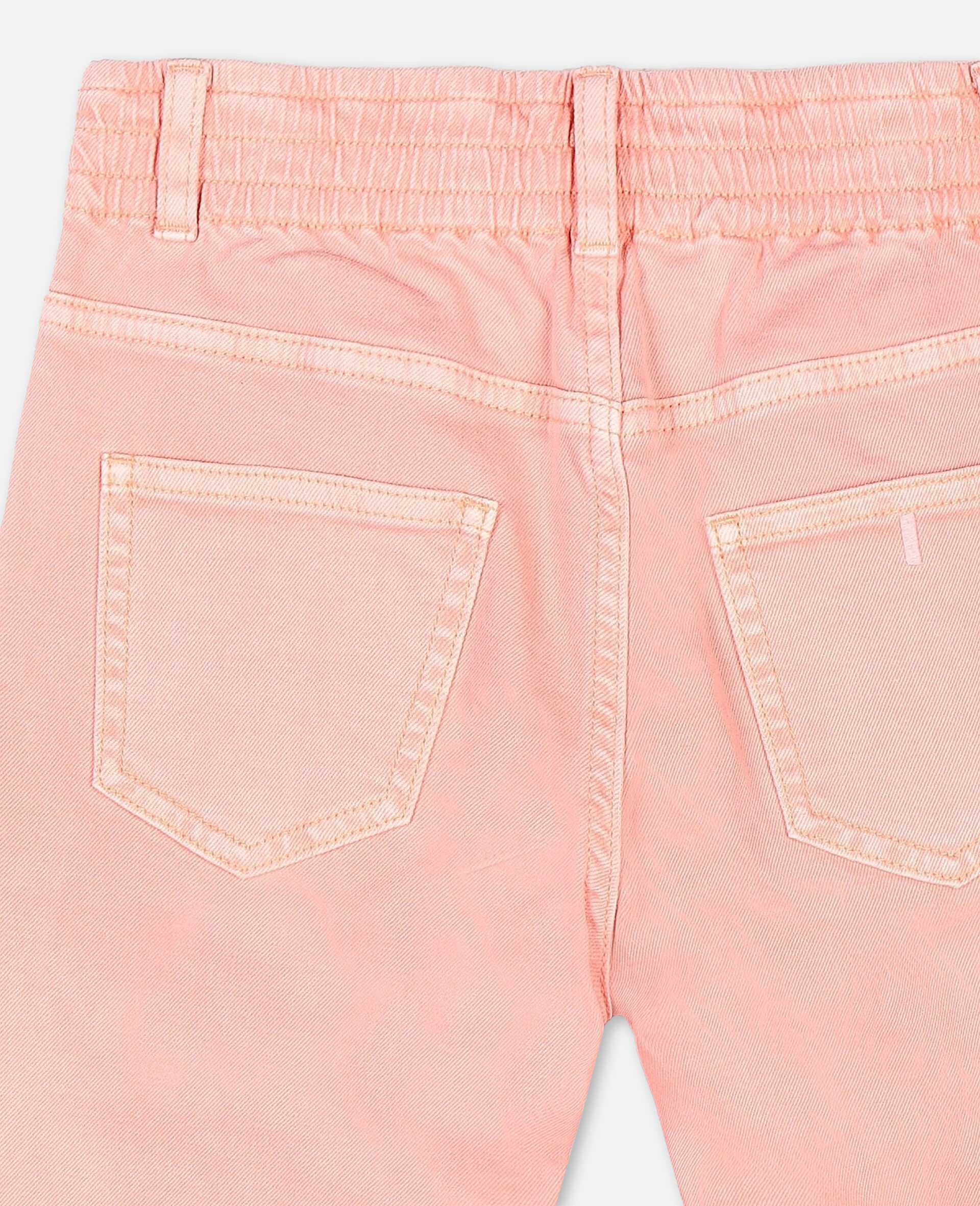 Mom Denim Trousers-Pink-large image number 2