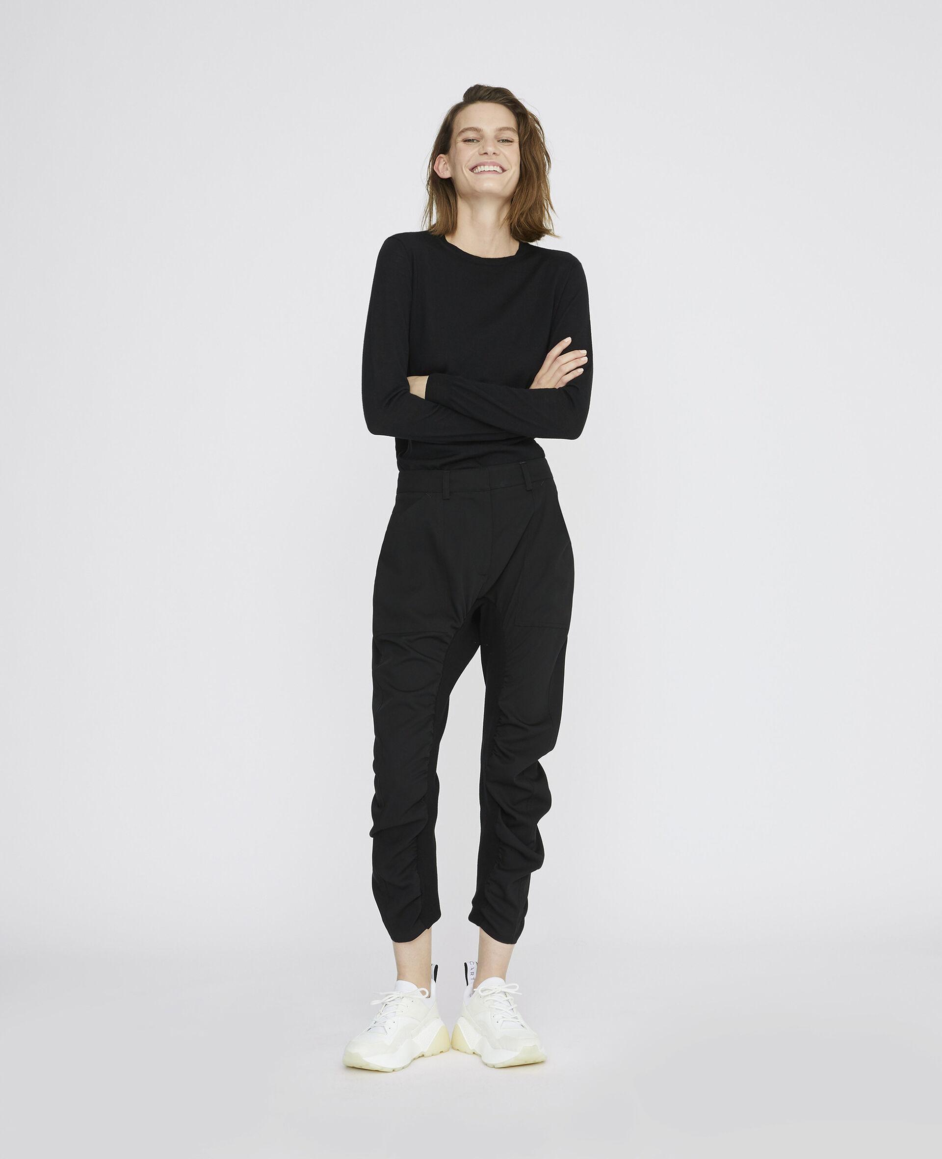 黑色 Tina 裤装-黑色-large image number 1