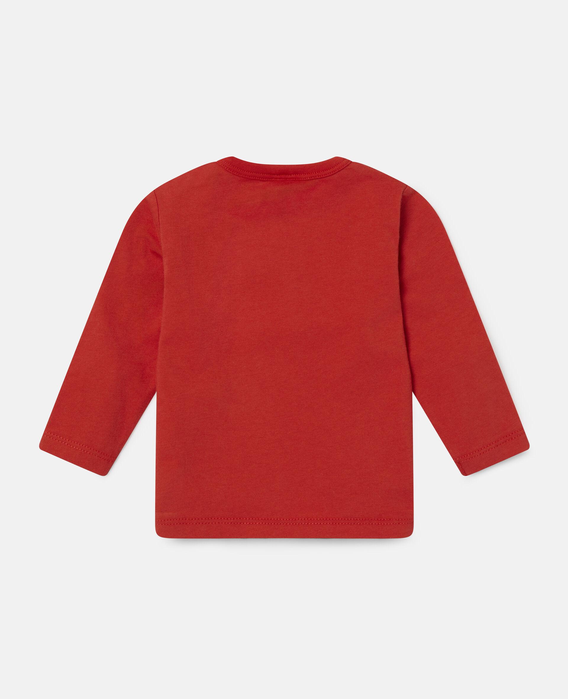 Haut imprimé aérosols-Rouge-large image number 3