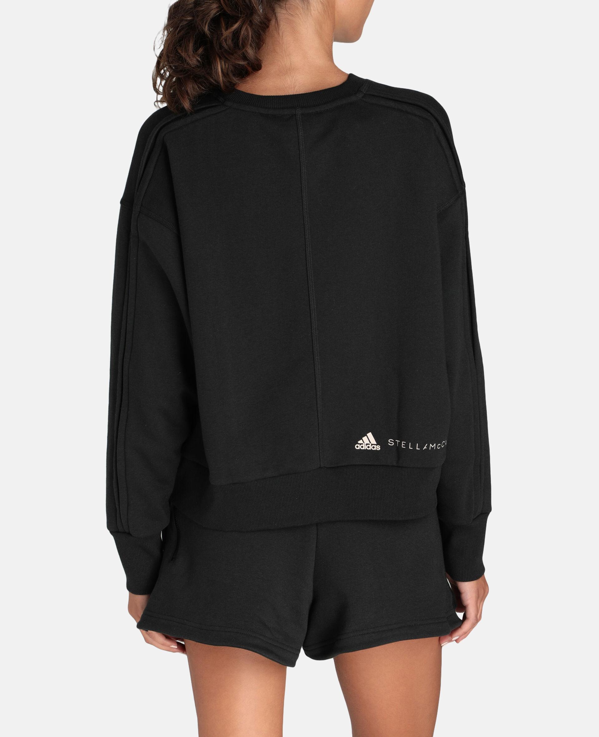 Sweat-shirt de sport noir-Noir-large image number 2