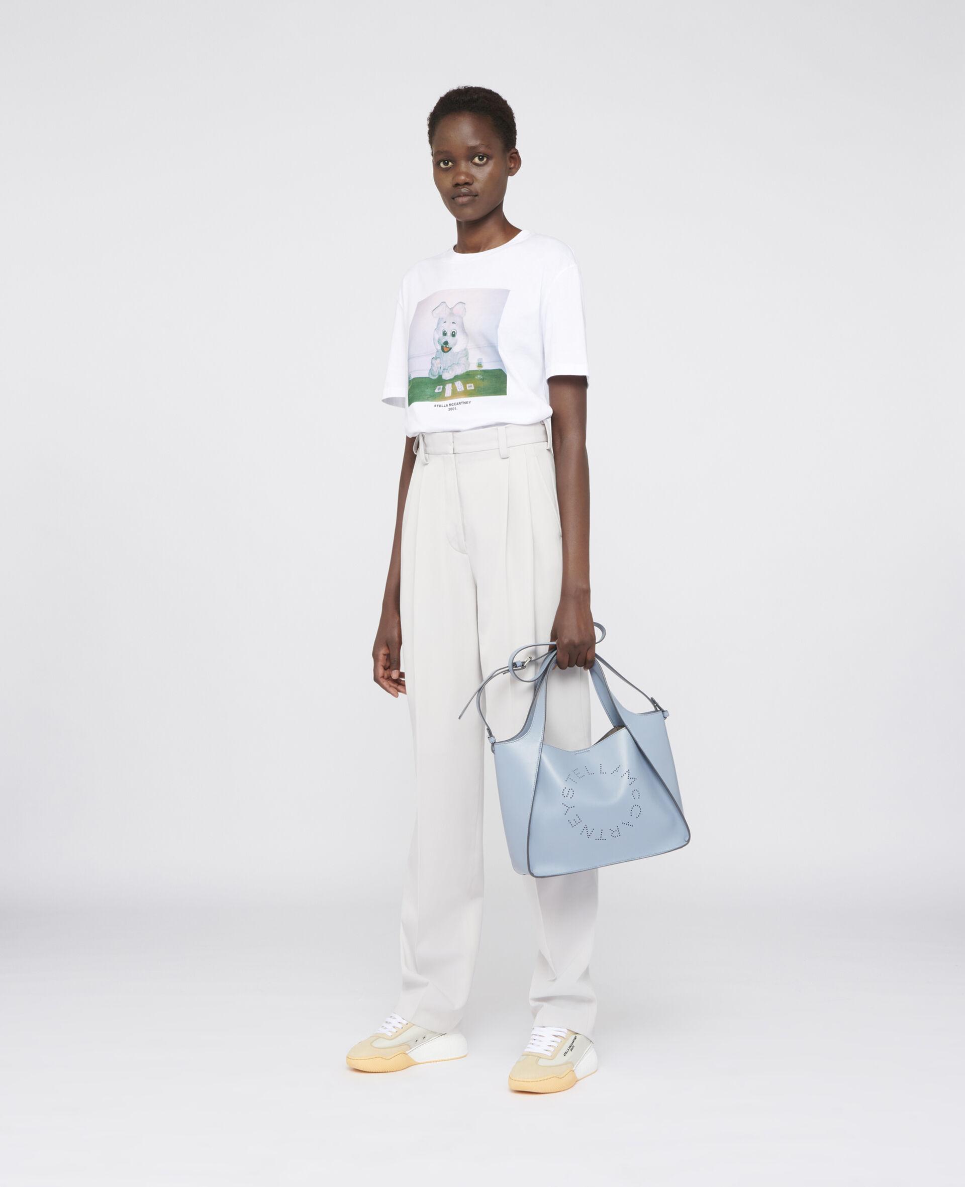 兔子印纹 T 恤 -白色-large image number 1