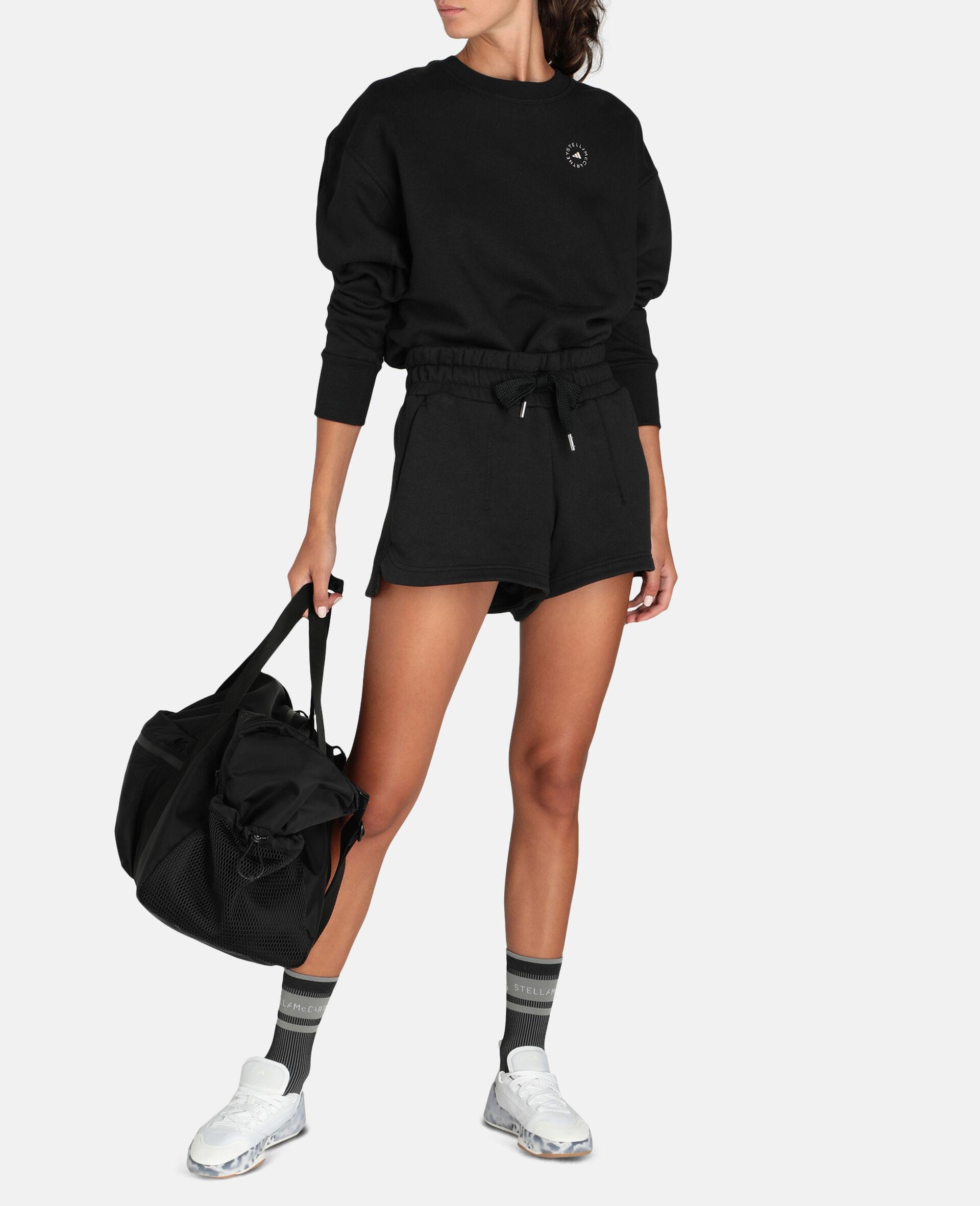Sweat-shirt de sport noir-Noir-large image number 1
