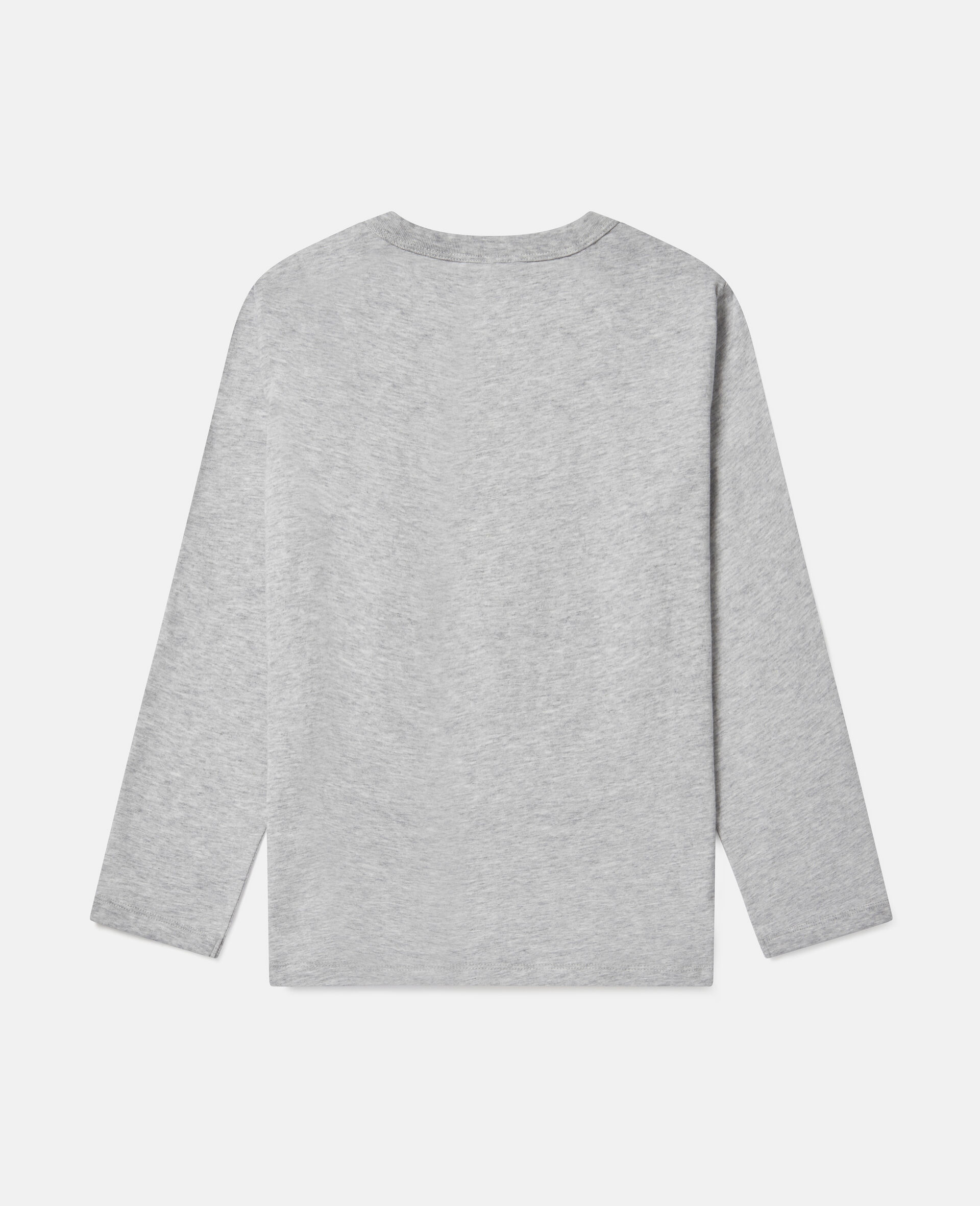 Oversized 'Stay Wild' Top-Grey-large image number 3