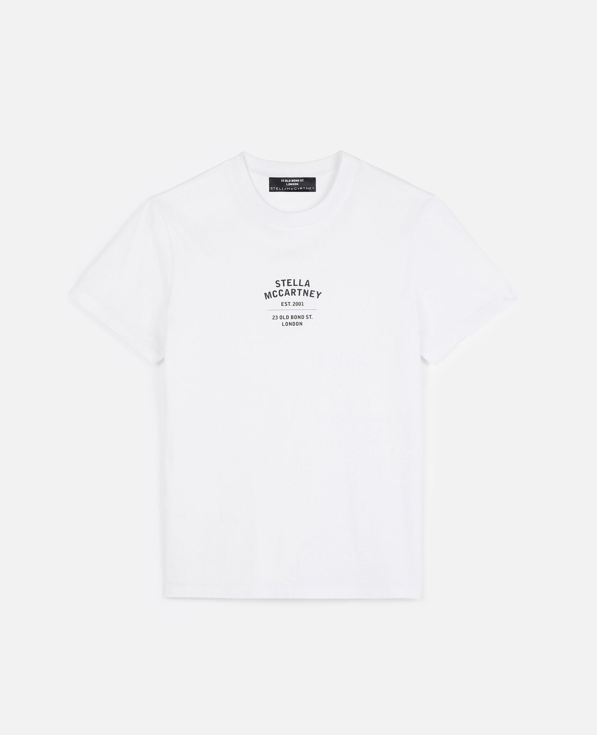 T-shirt 23 OBS en coton biologique-Blanc-large image number 0