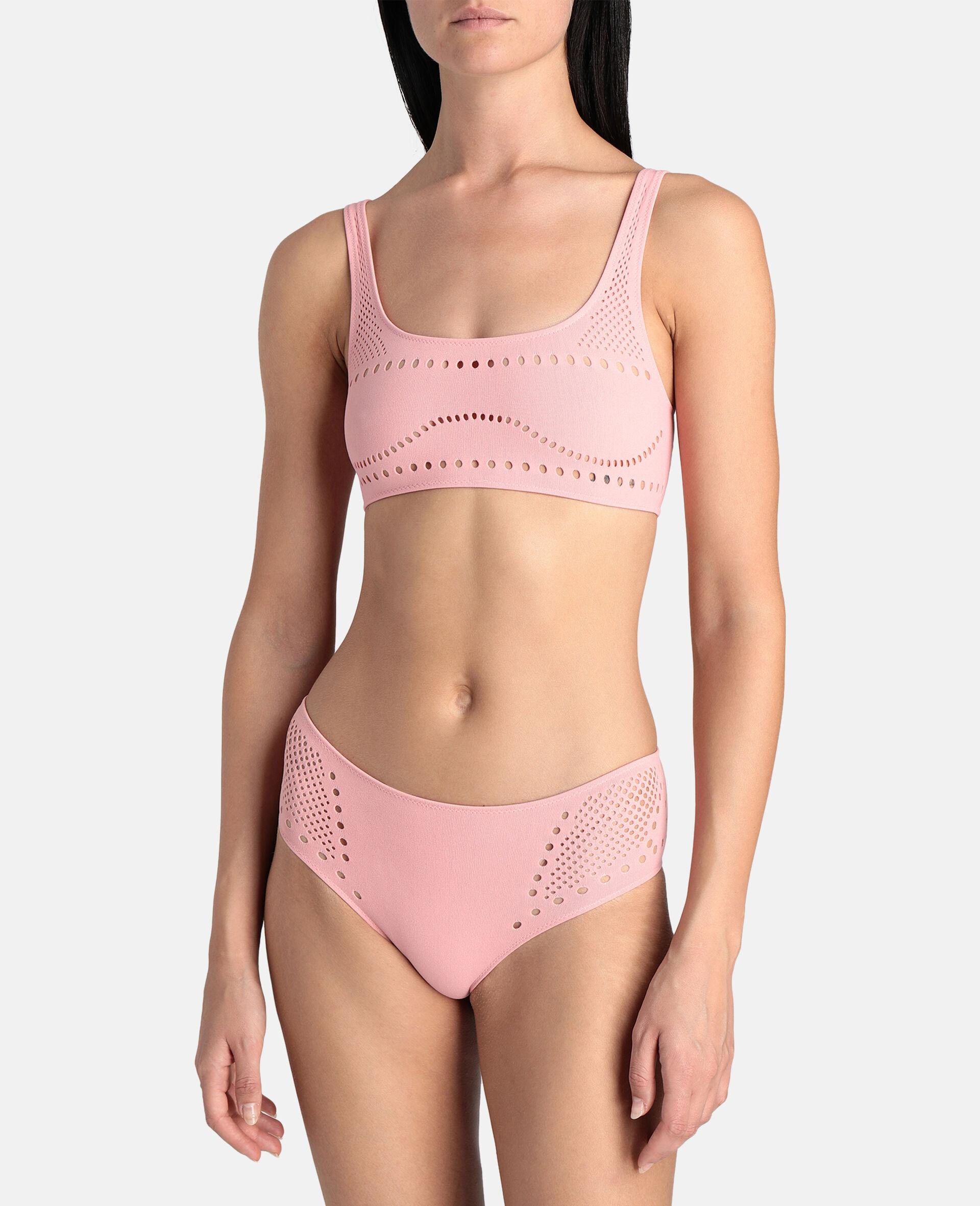 Stellawear Crop Bra-Pink-large image number 1