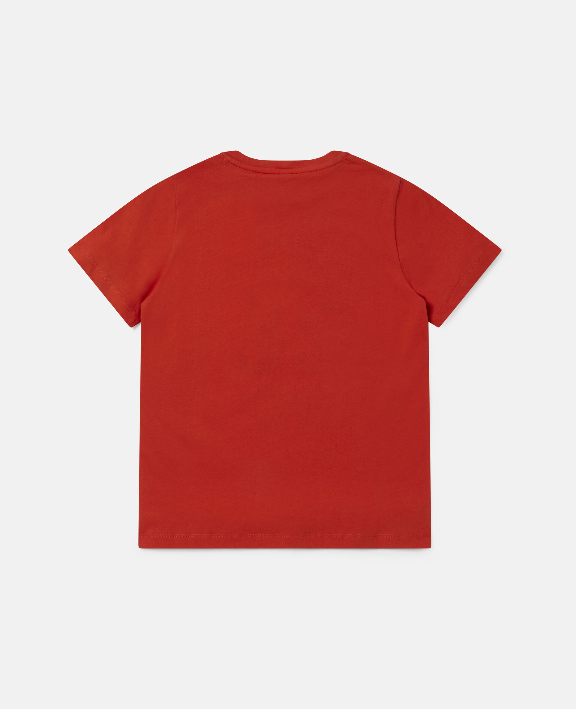 Best Buds Cotton T-shirt-Red-large image number 3
