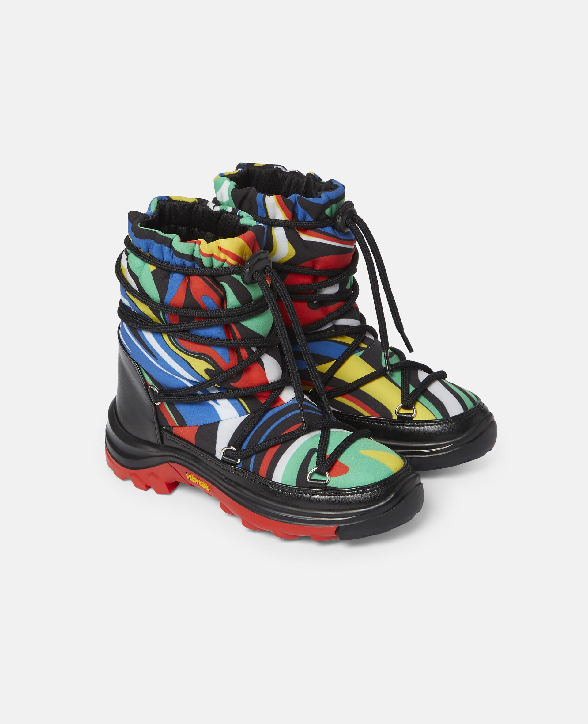 Marble Ski Boots-Multicolour-large image number 3