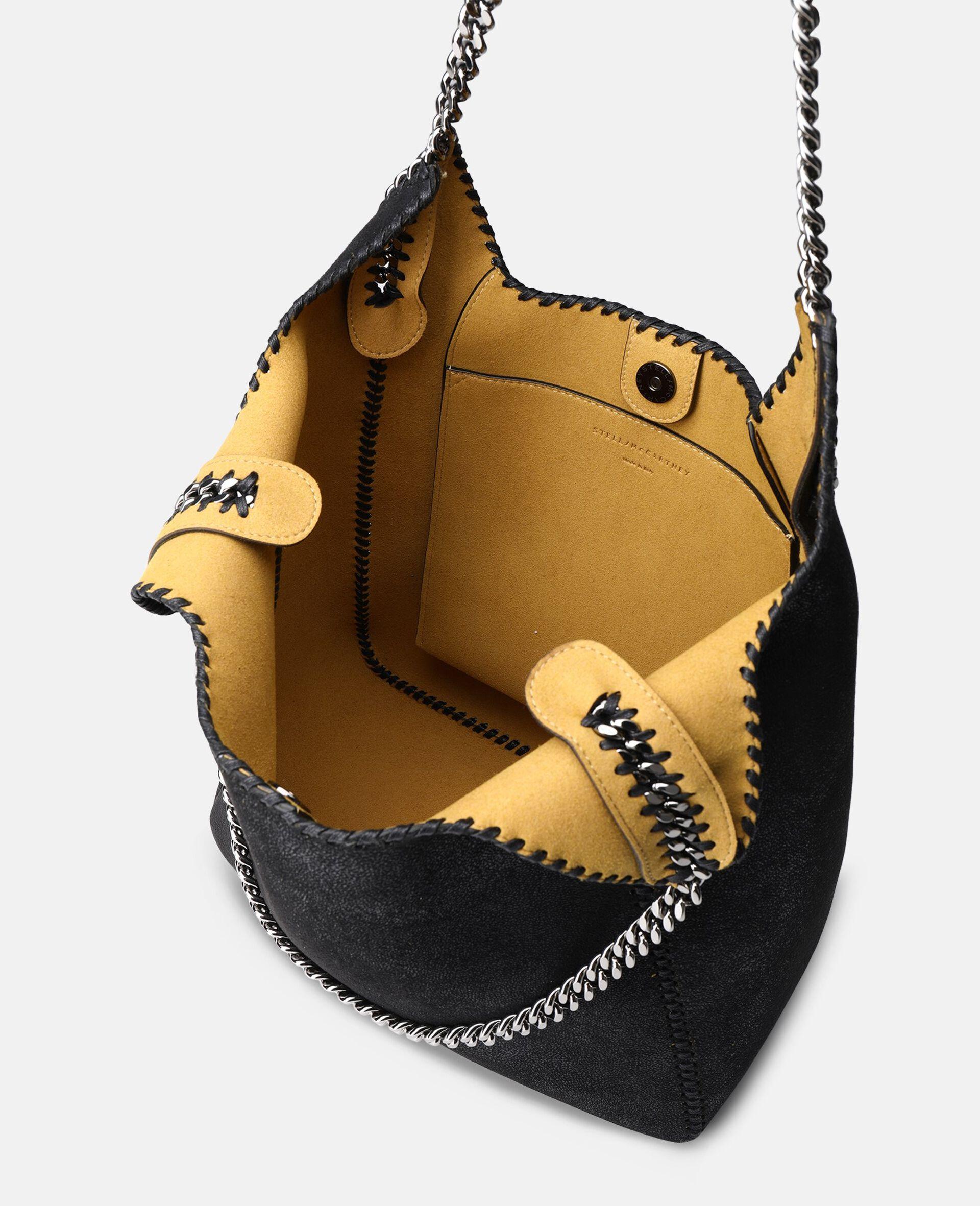 Large Falabella Tote Bag-Black-large image number 3