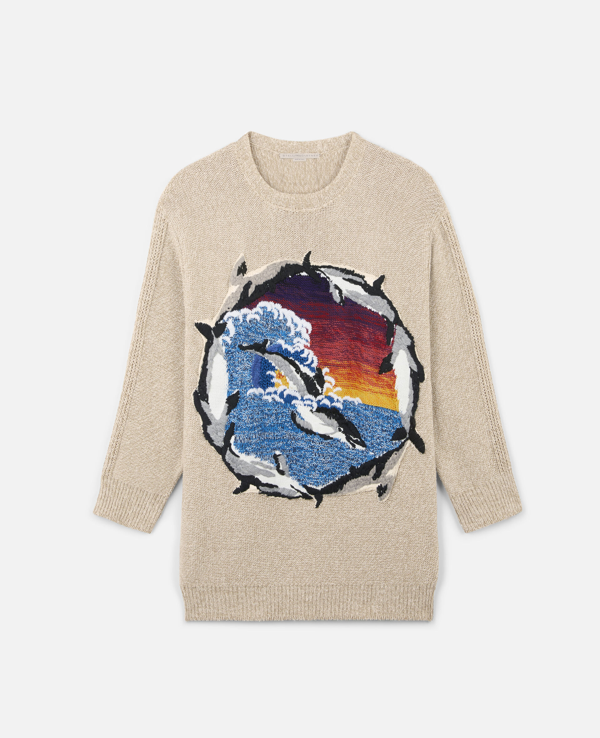 Intarsia Jumper-Multicolour-large image number 0