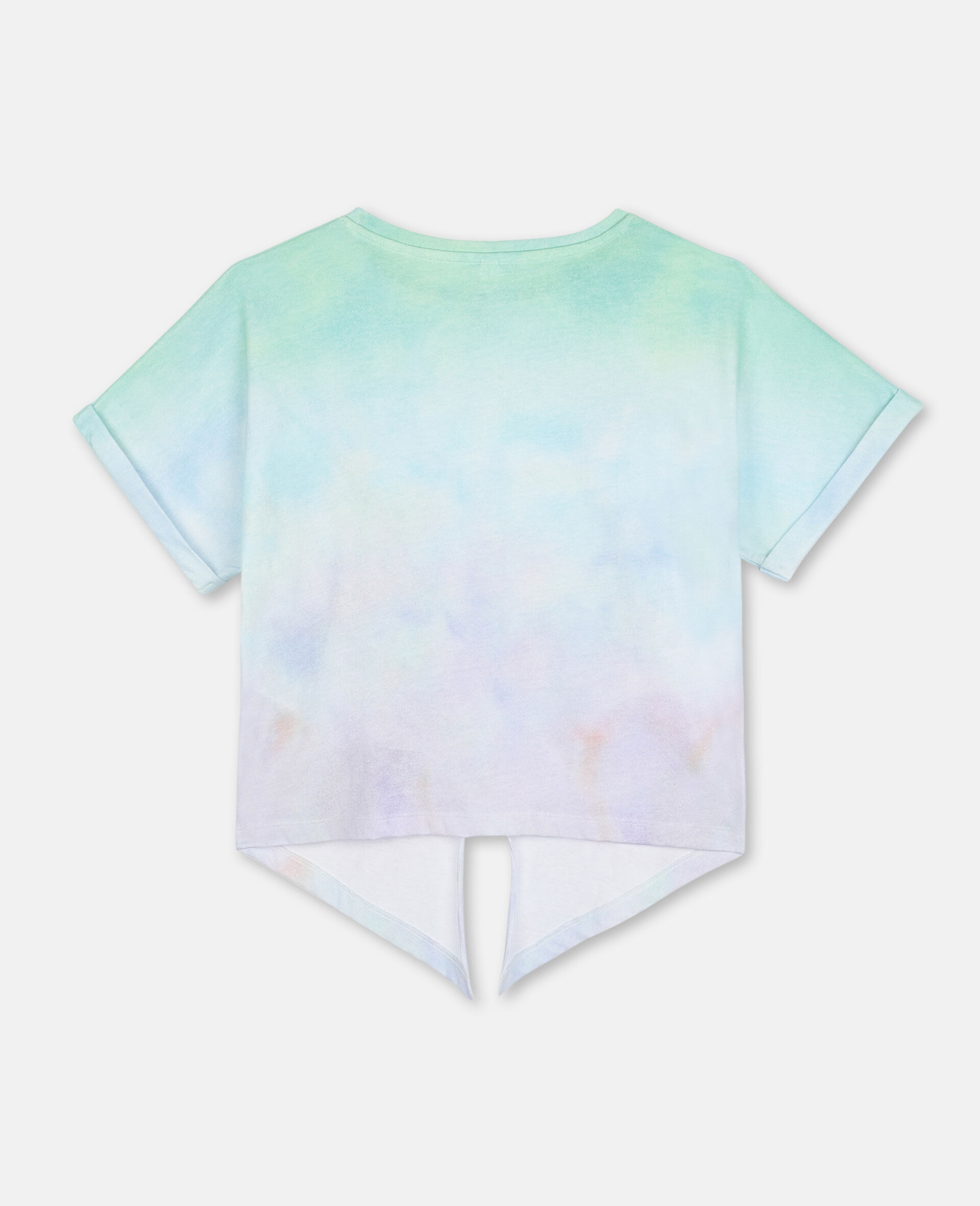 Butterfly Cotton T-shirt-Multicolour-large image number 3
