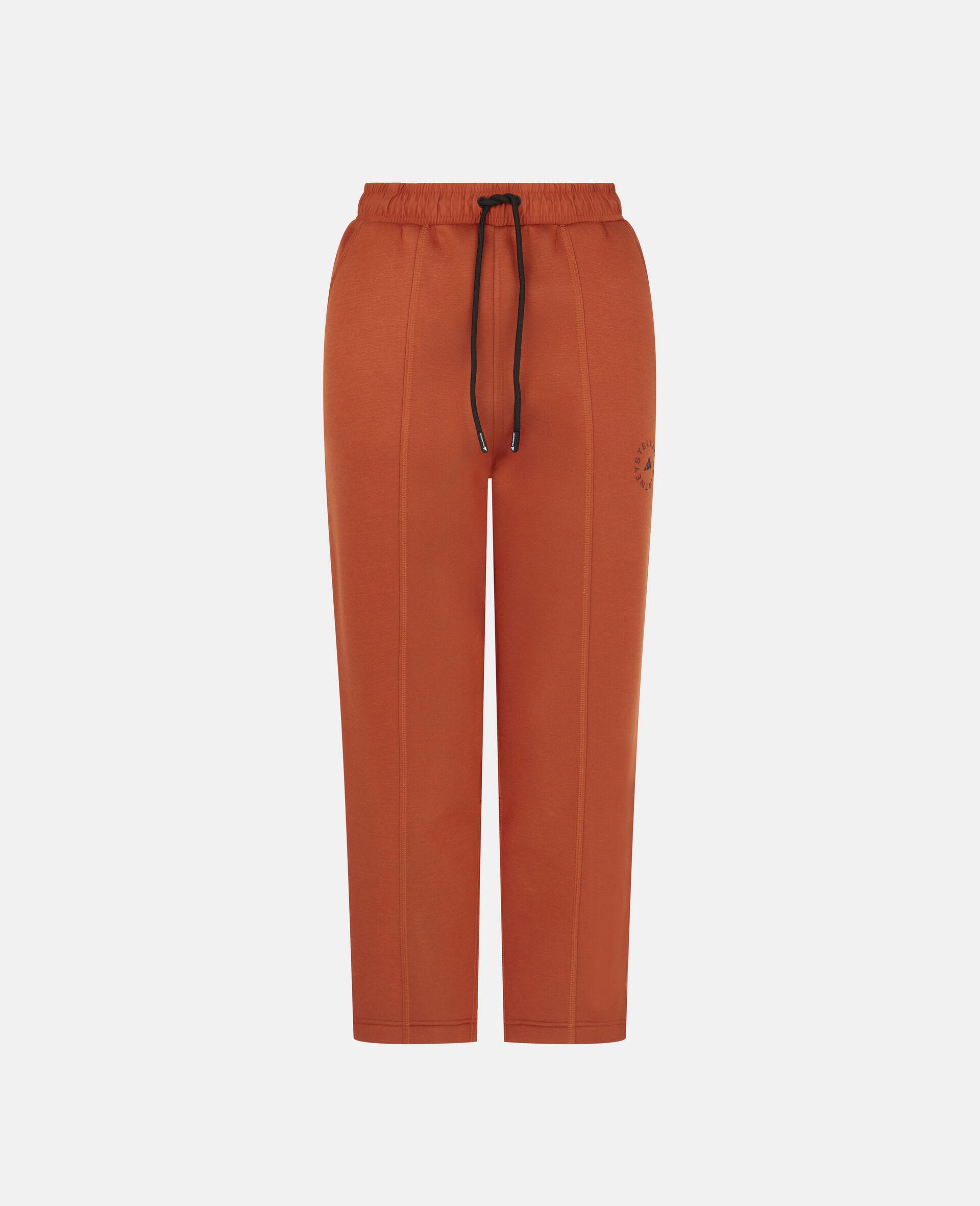 Burnt Brick Track Pants-Orange-large image number 0
