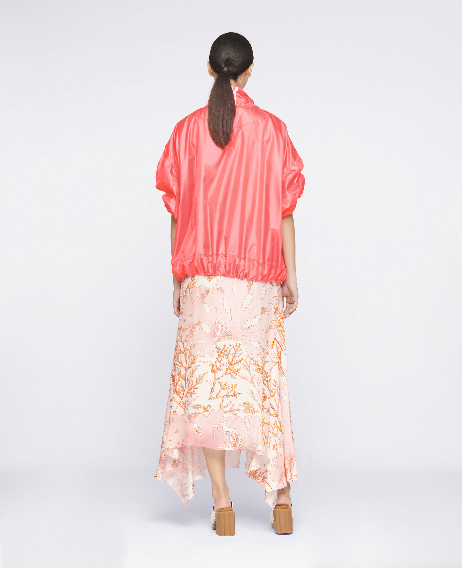 Ariah Silk Skirt-Multicoloured-large image number 2