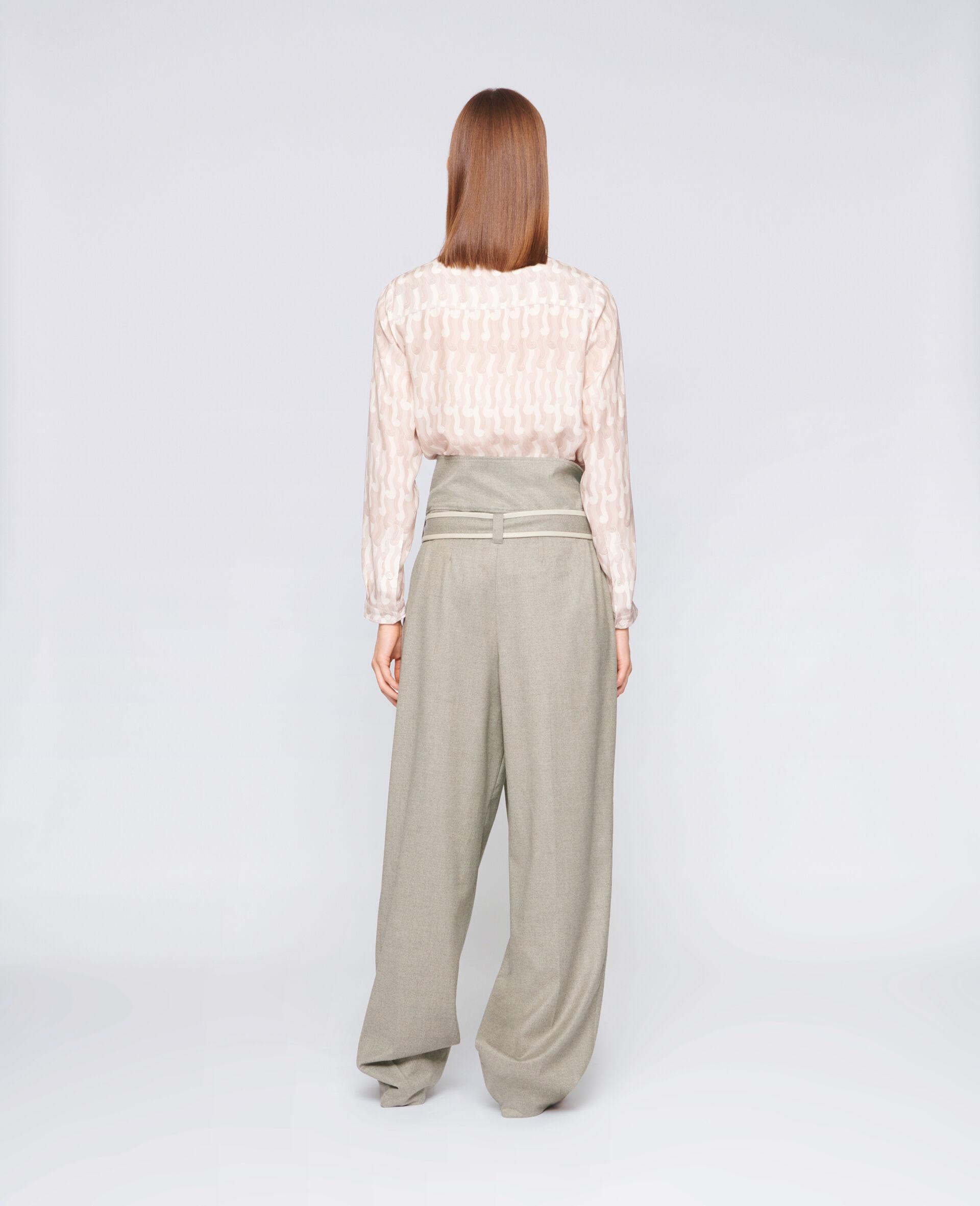 Eva Silk Shirt-Multicolour-large image number 2
